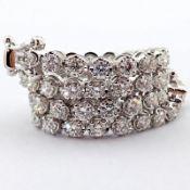 14K Diamond Bracelet 2,00ct