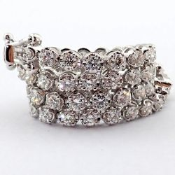14K Diamond Bracelet 2,00ct