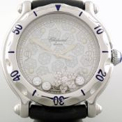 Chopard / Happy Sport - Snow Flake - Unisex Steel Wrist Watch