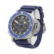 Panerai Luminor Submersible PAM00982 Men Stainless Steel Chronograph Watch
