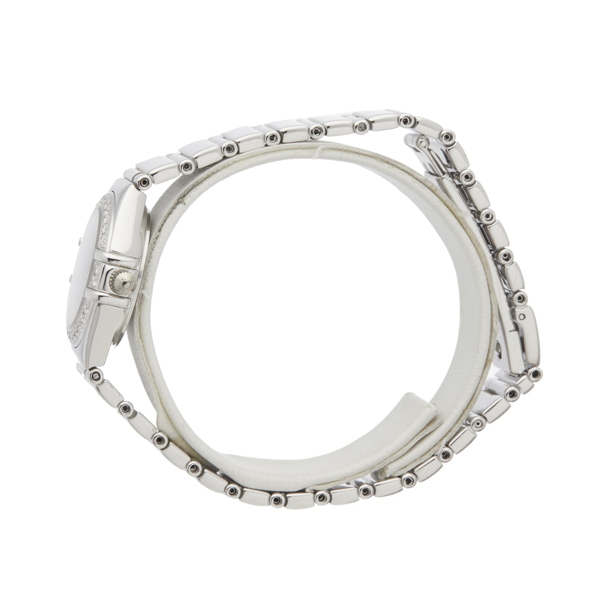 Omega Constellation 0 1165.36 Ladies White Gold Diamond Watch - Image 6 of 7