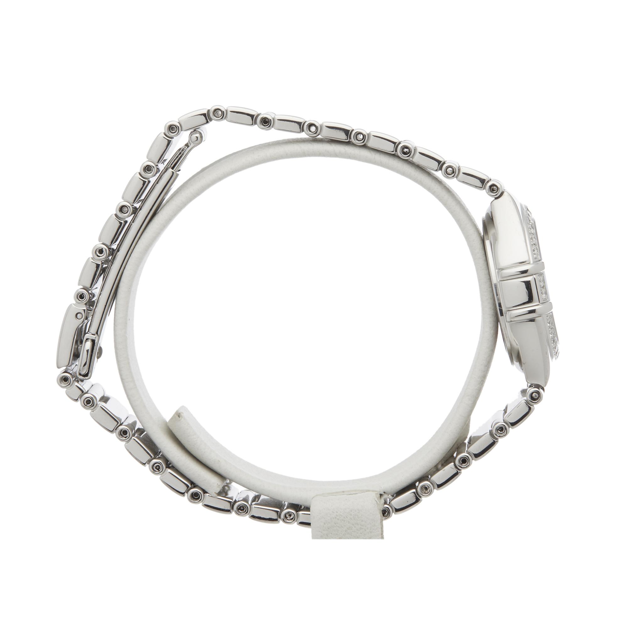 Omega Constellation 0 1165.36 Ladies White Gold Diamond Watch - Image 5 of 7