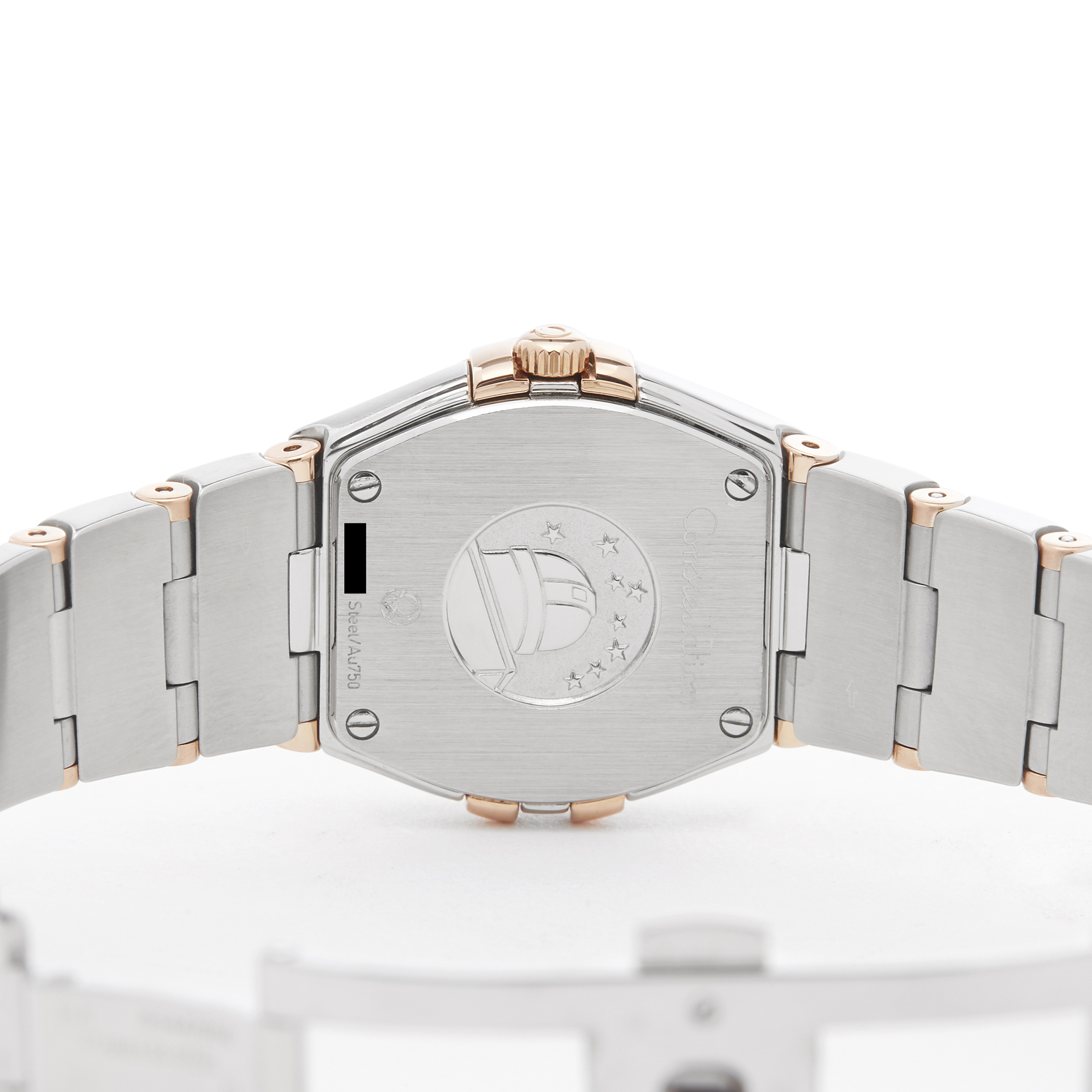 Omega Constellation 0 123.25.24.60.55.005 Ladies Stainless Steel & Rose Gold Diamond Mother Of Pearl - Image 3 of 7
