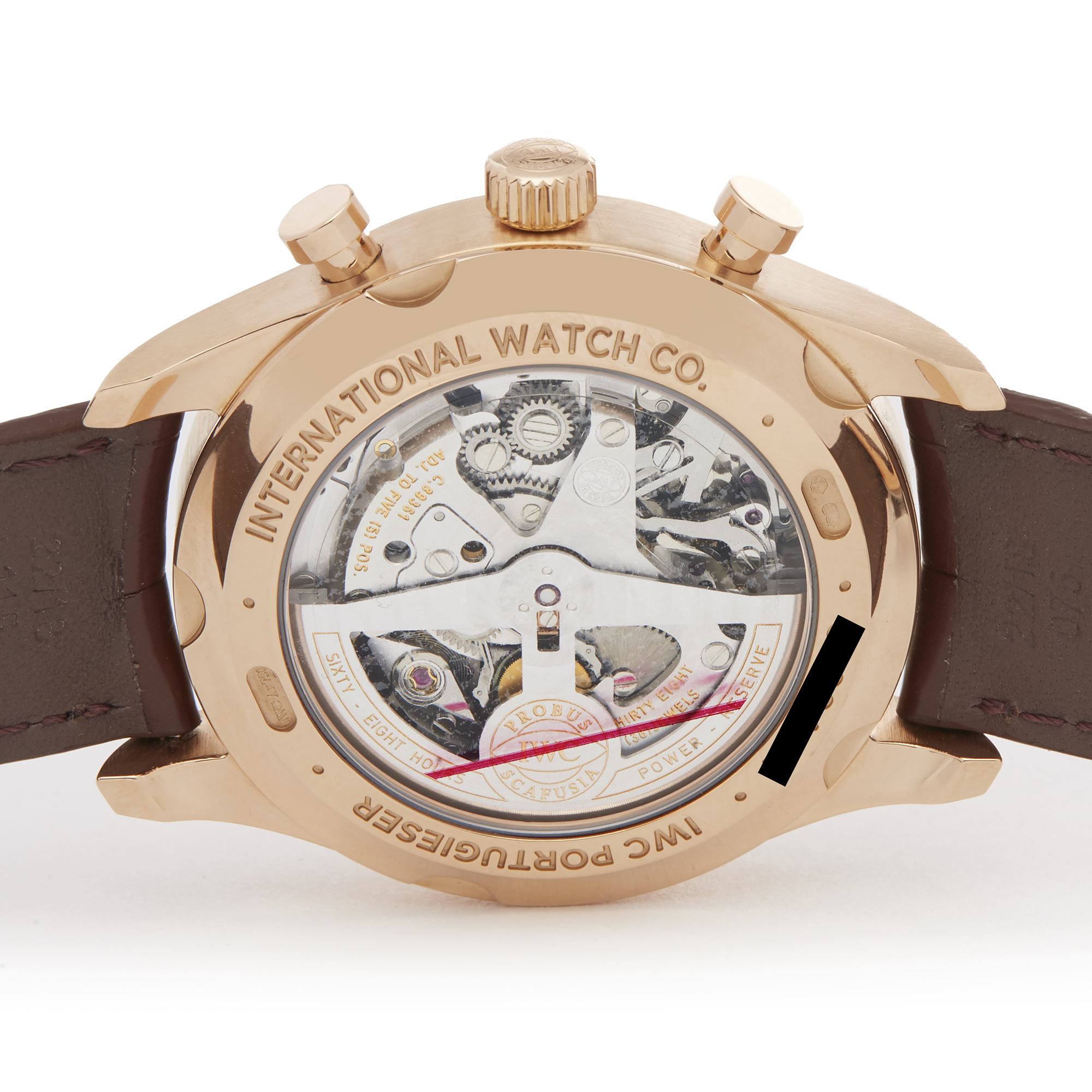 IWC Portuguese Classic IW390402 Men Rose Gold Chronograph Watch - Image 2 of 6