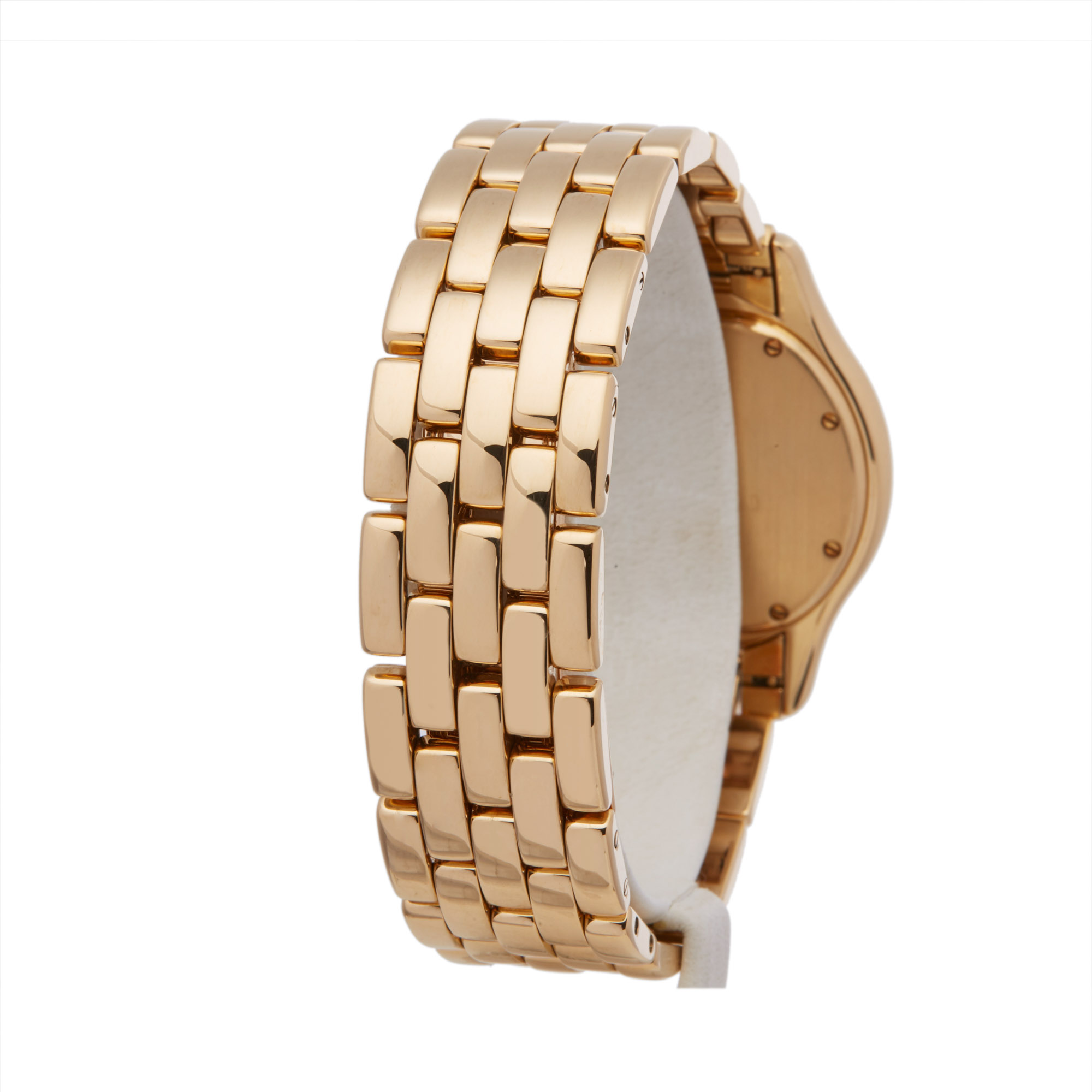 Cartier Panthère Cougar 116000R Unisex Yellow Gold Watch - Image 5 of 8