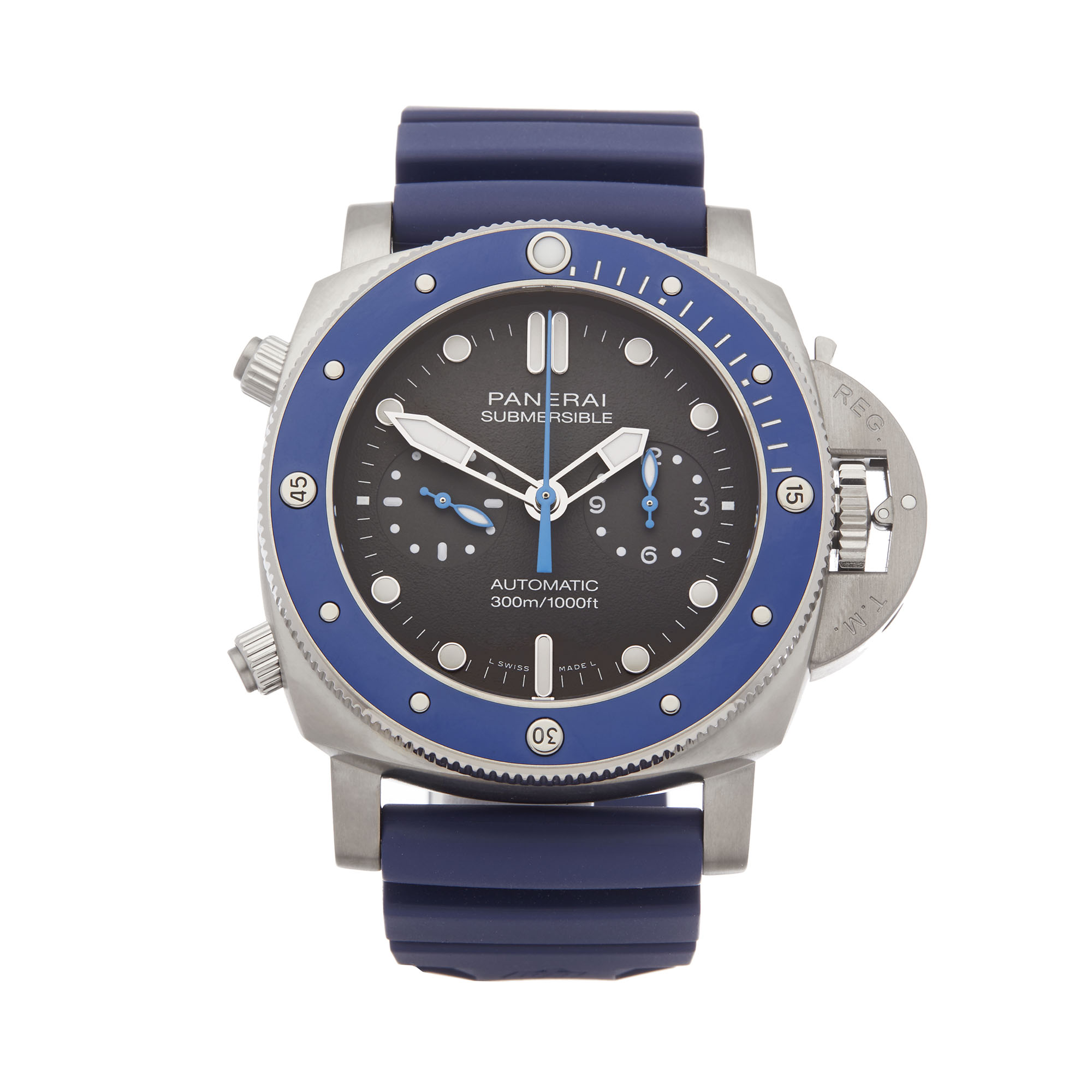 Panerai Luminor Submersible PAM00982 Men Stainless Steel Chronograph Watch - Image 8 of 8