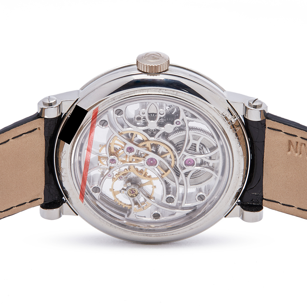 Franck Muller Round 7042 B S65 97AC Men Stainless Steel 7 Day Skeleton Watch - Image 4 of 8