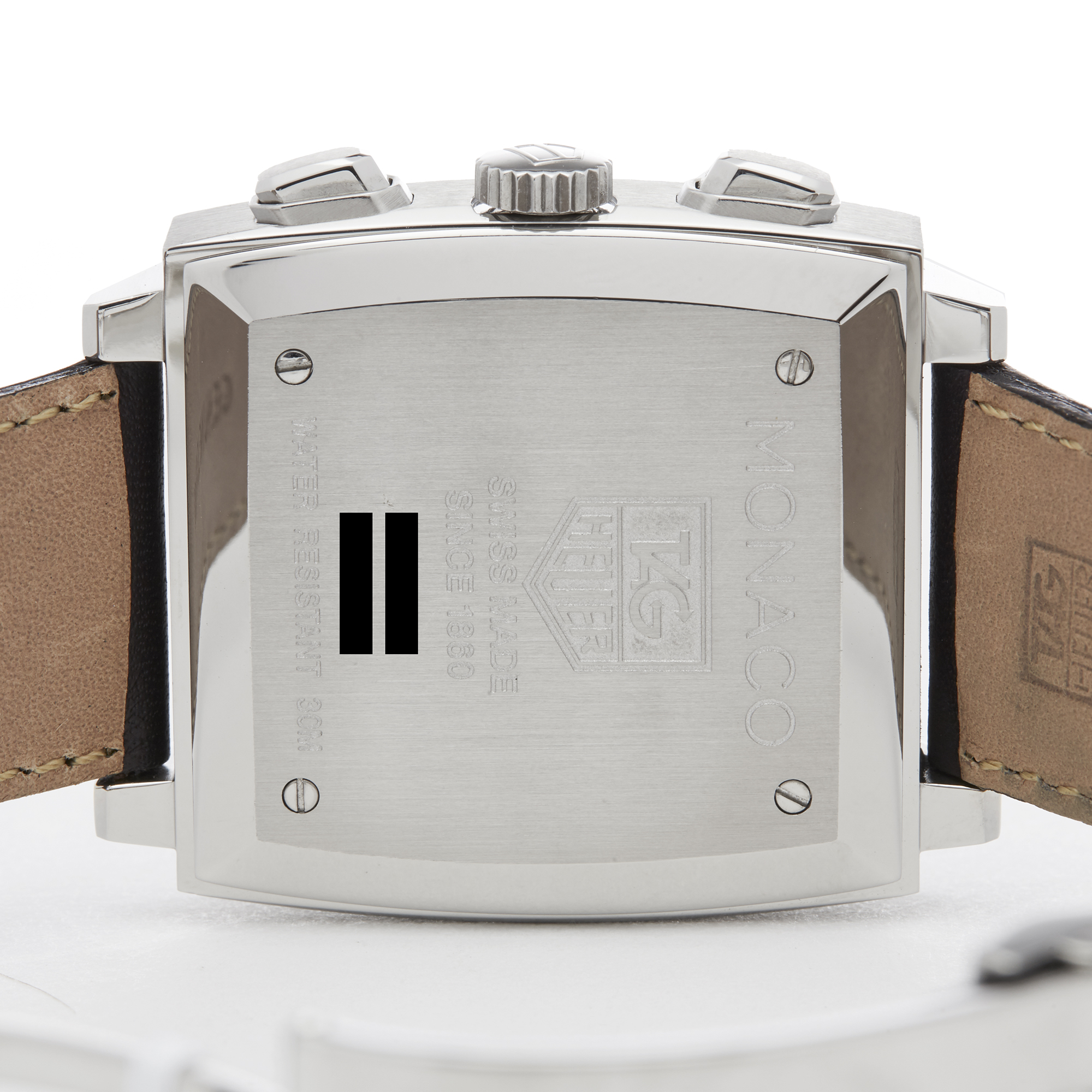Tag Heuer Monaco CW2113-0 Men Stainless Steel Chronograph Watch - Image 4 of 8