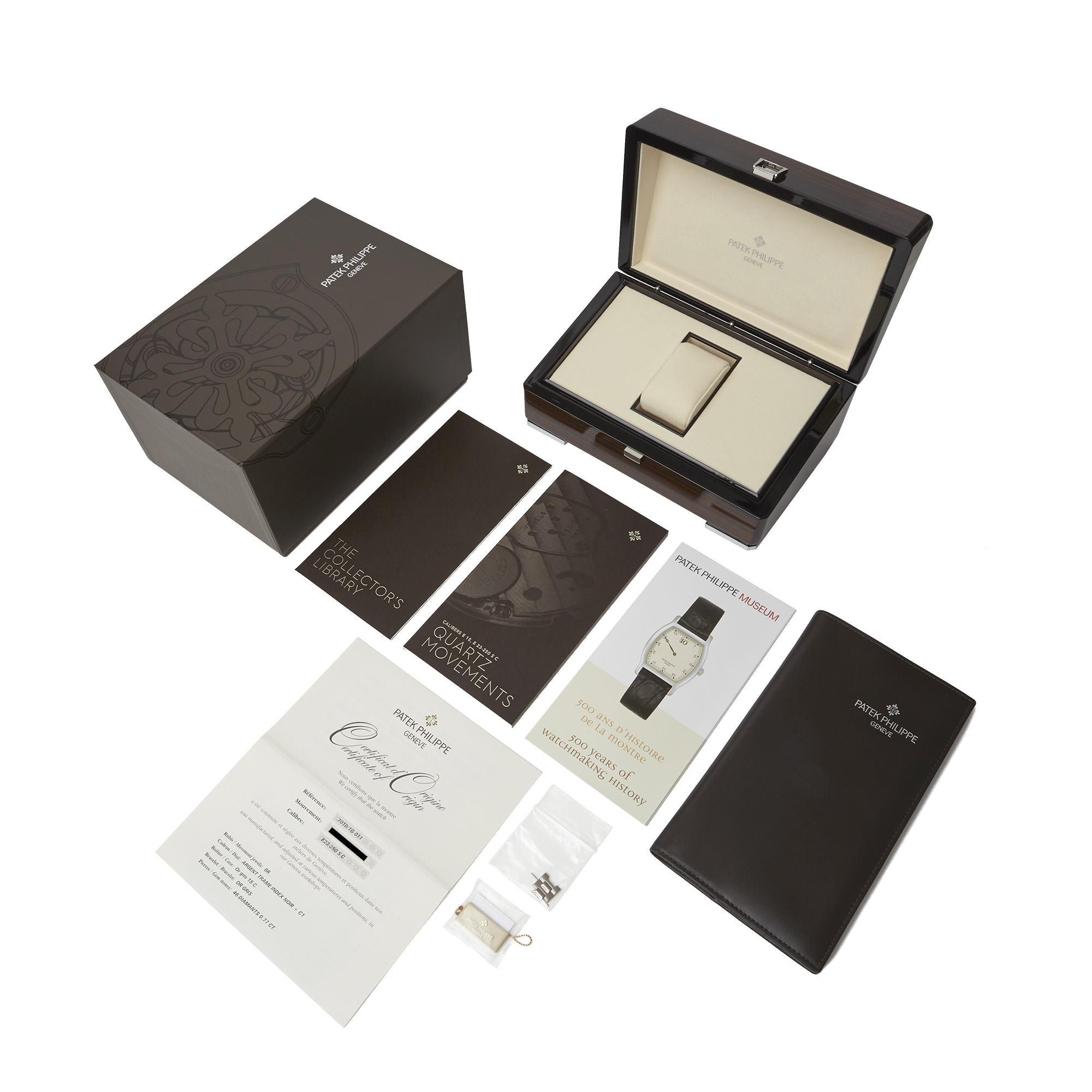 Patek Philippe Nautilus 7010G Ladies White Gold Diamond Watch - Image 3 of 8