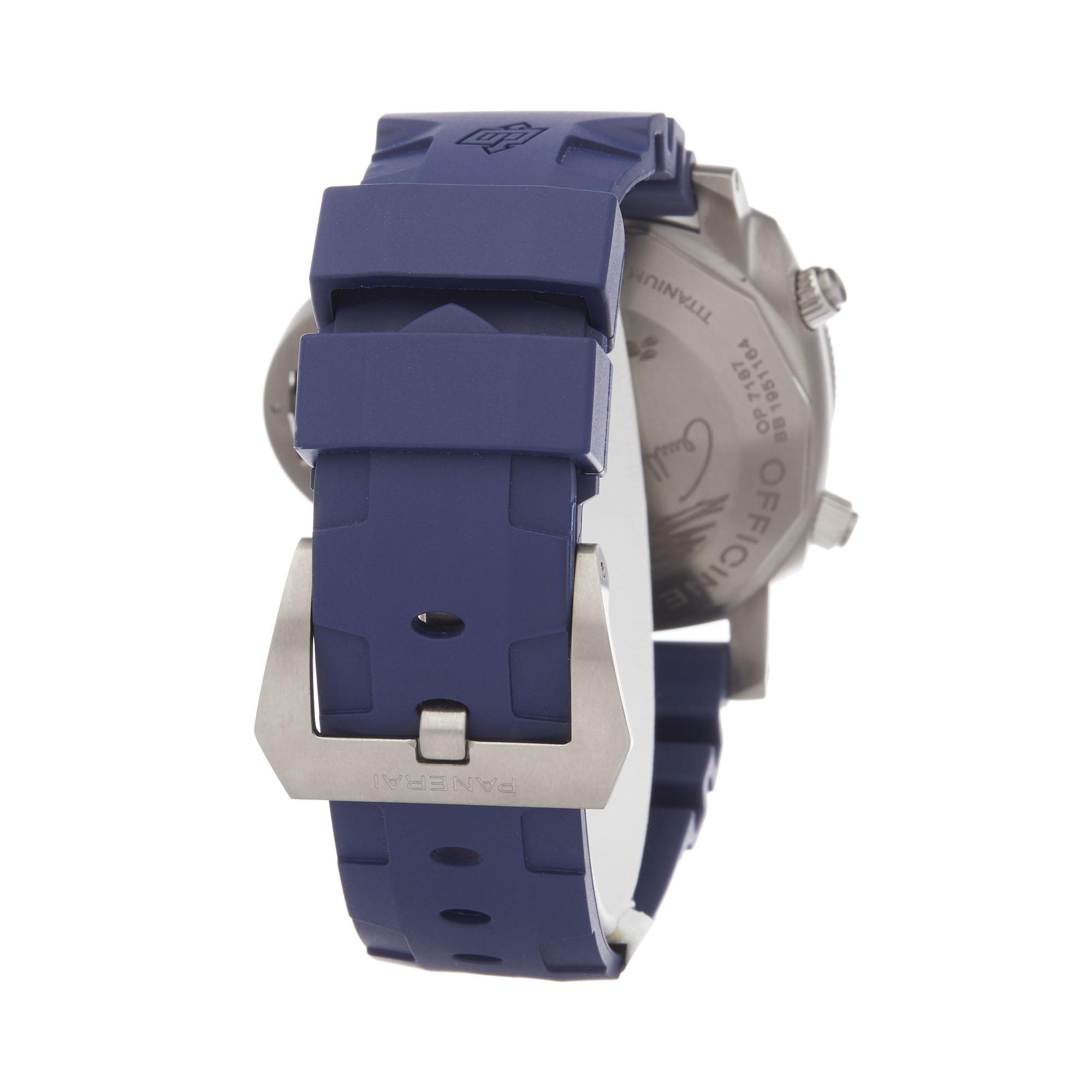 Panerai Luminor Submersible PAM00982 Men Stainless Steel Chronograph Watch - Image 5 of 8