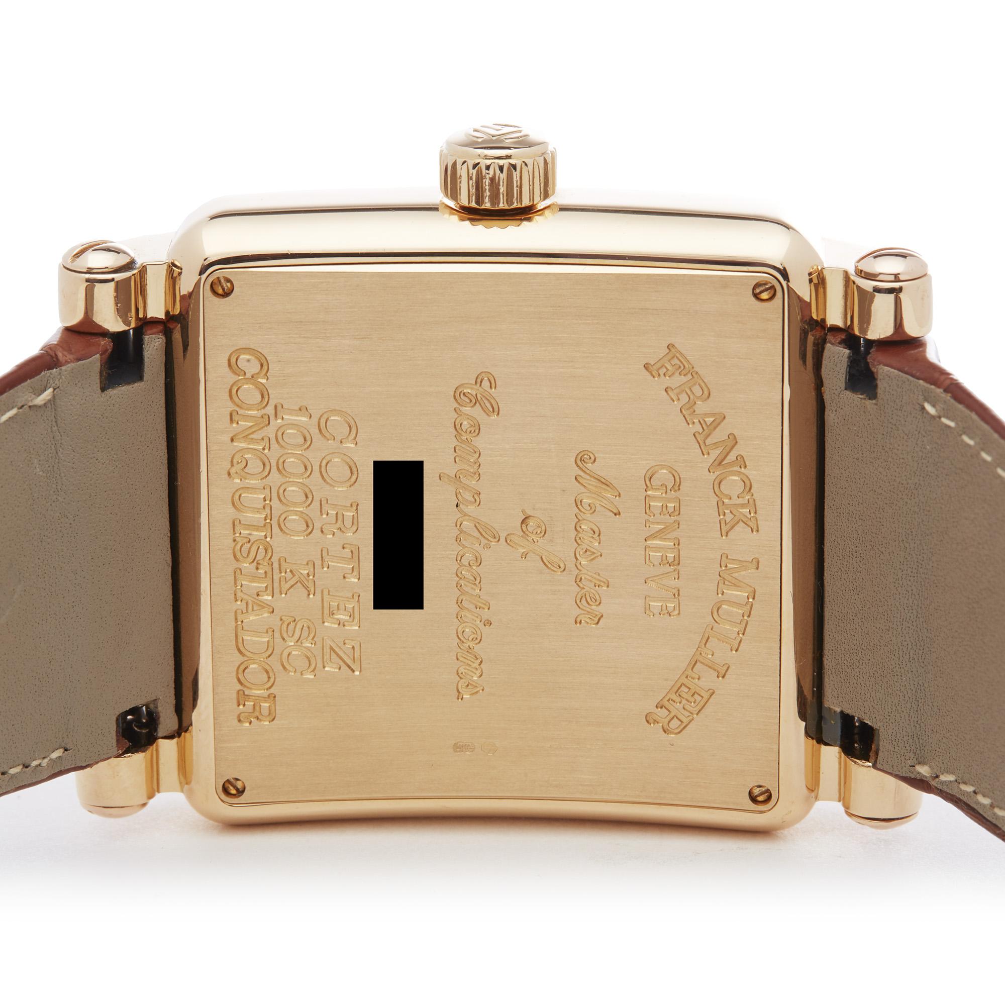 Franck Muller King Conquistador Cortez 10000K Men Rose Gold Watch - Image 4 of 8