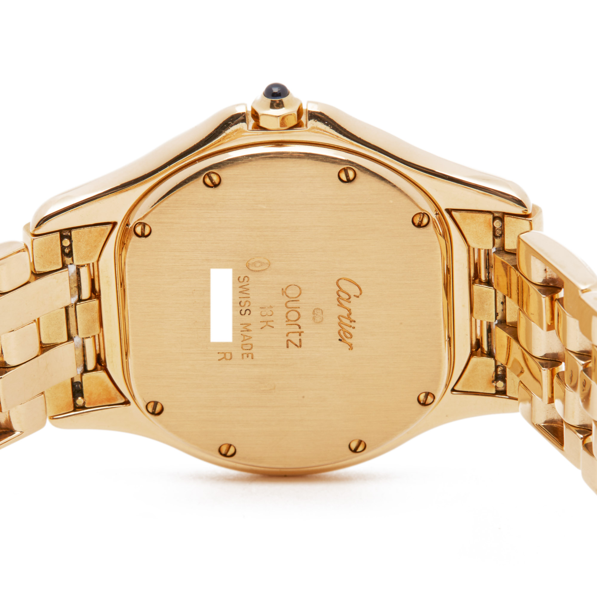 Cartier Panthère Cougar 116000R Unisex Yellow Gold Watch - Image 4 of 8