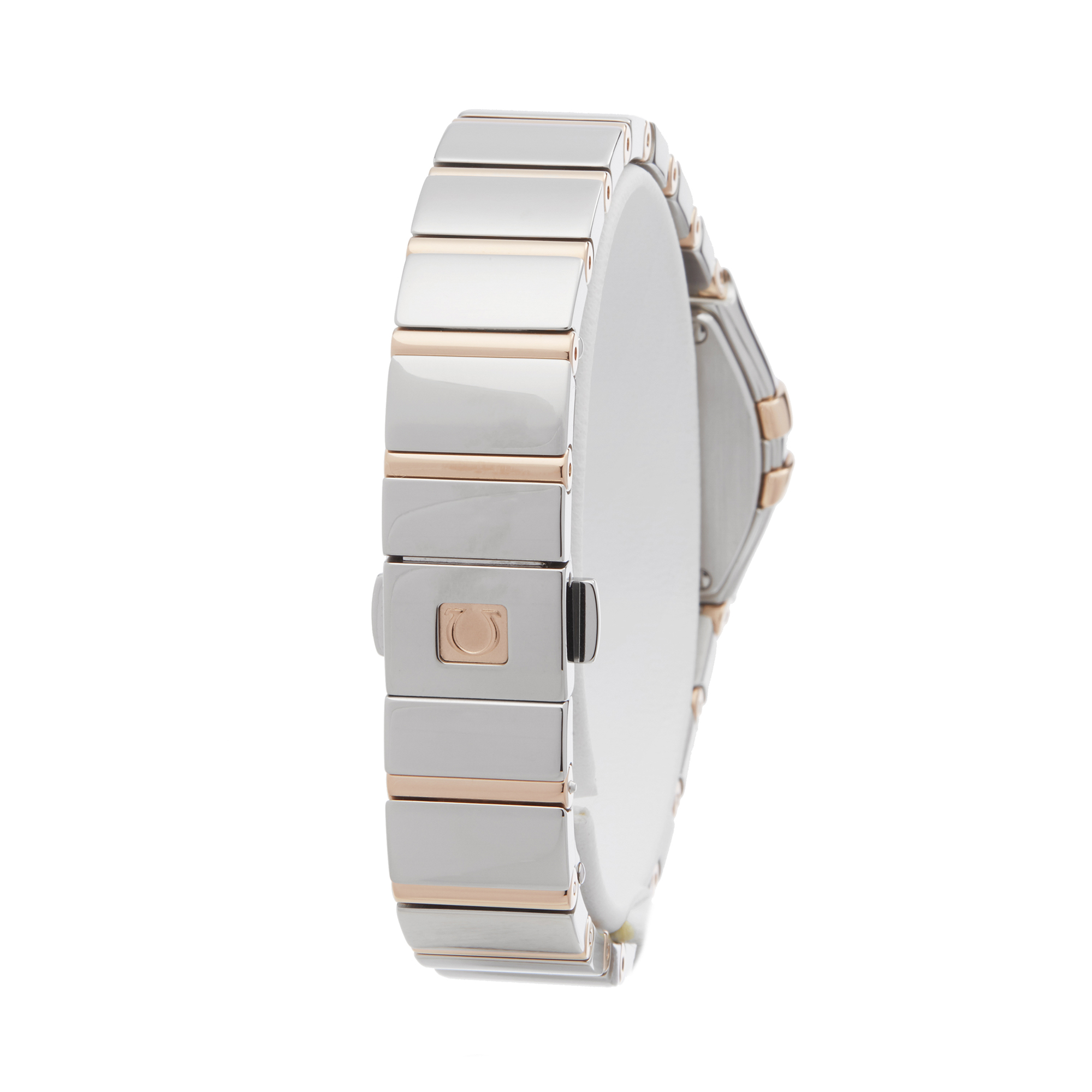 Omega Constellation 0 123.25.24.60.55.005 Ladies Stainless Steel & Rose Gold Diamond Mother Of Pearl - Image 4 of 7