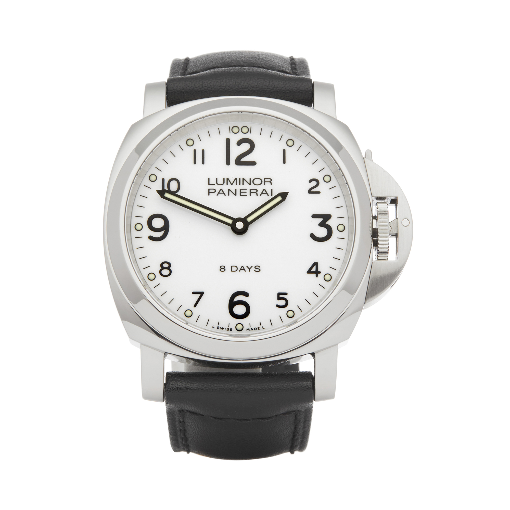 Panerai Luminor PAM00561 Men Stainless Steel Base 8 Days Watch - Image 8 of 8