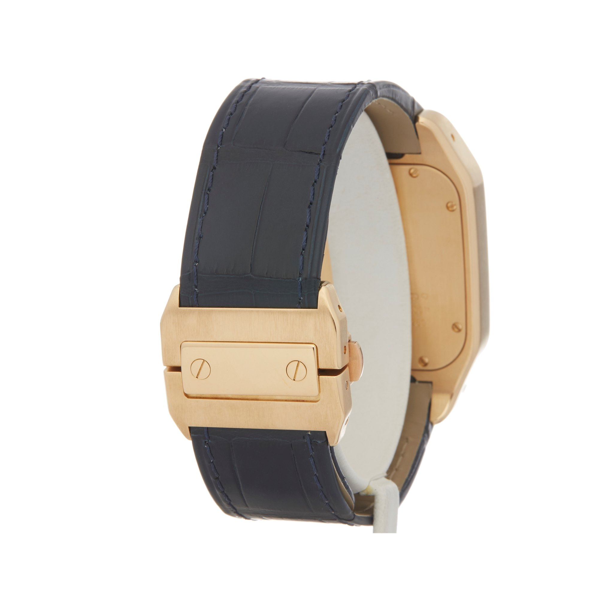 Cartier Santos 100 W20071Y1 or 2657 Men Yellow Gold Watch - Image 5 of 8