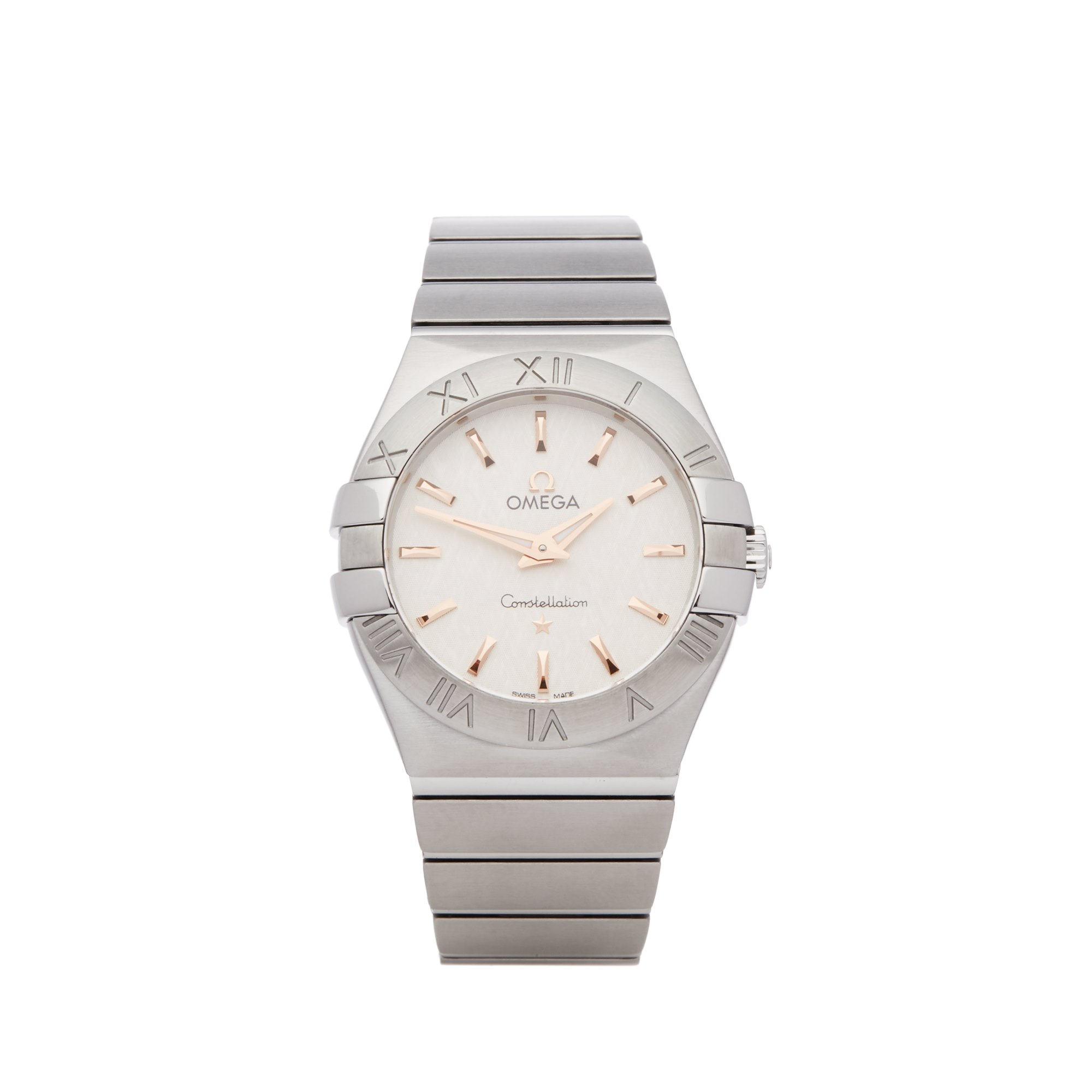 Omega Constellation 0 123.10.27.60.02.004 Ladies Stainless Steel Watch - Image 2 of 8