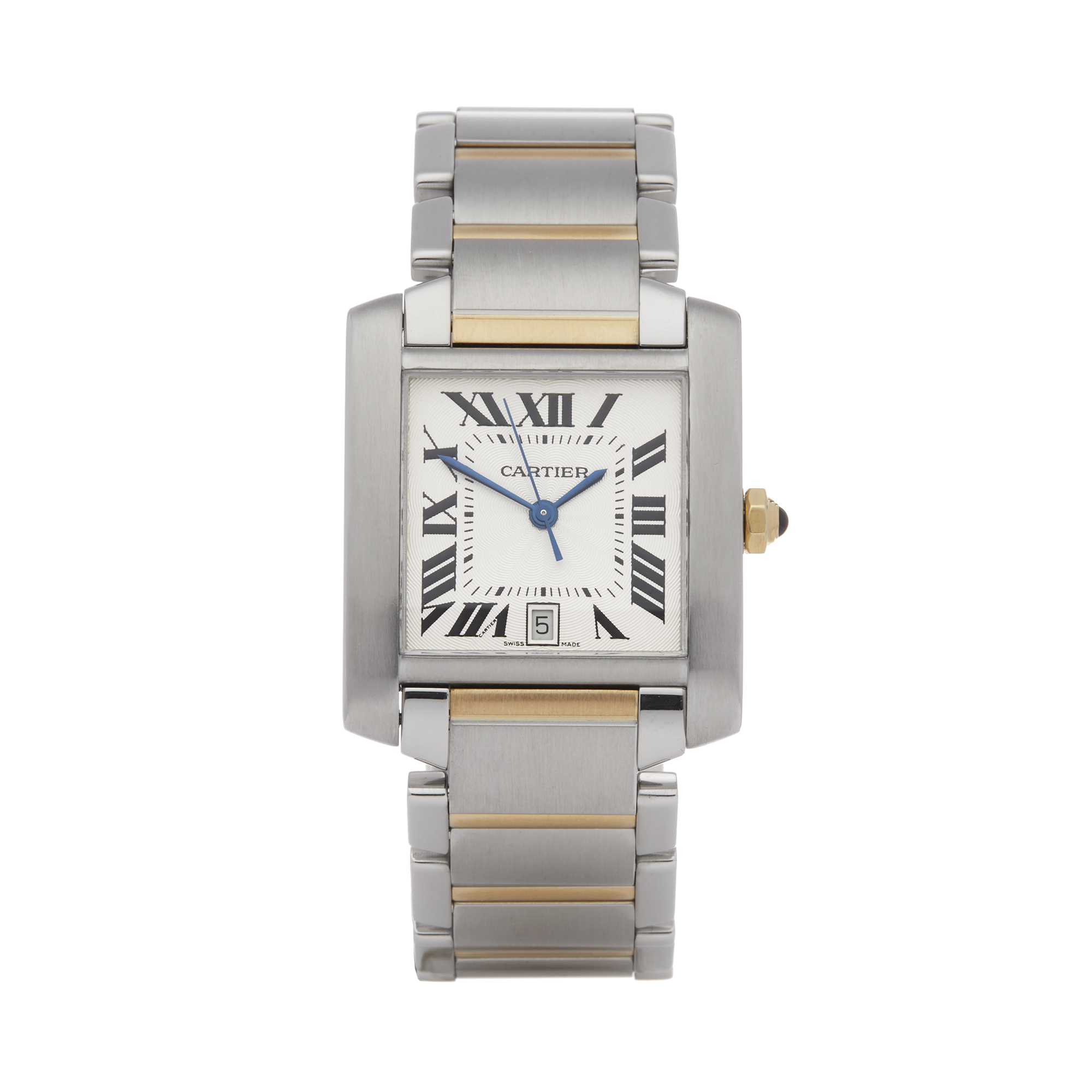 Cartier Tank Francaise 2302 Unisex Stainless Steel Watch - Image 8 of 8