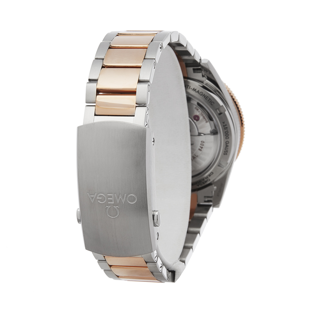 Omega Seamaster 233.20.41.21.01.001 Men Stainless Steel & Rose Gold 300M Master Co-Axial Watch - Image 5 of 8