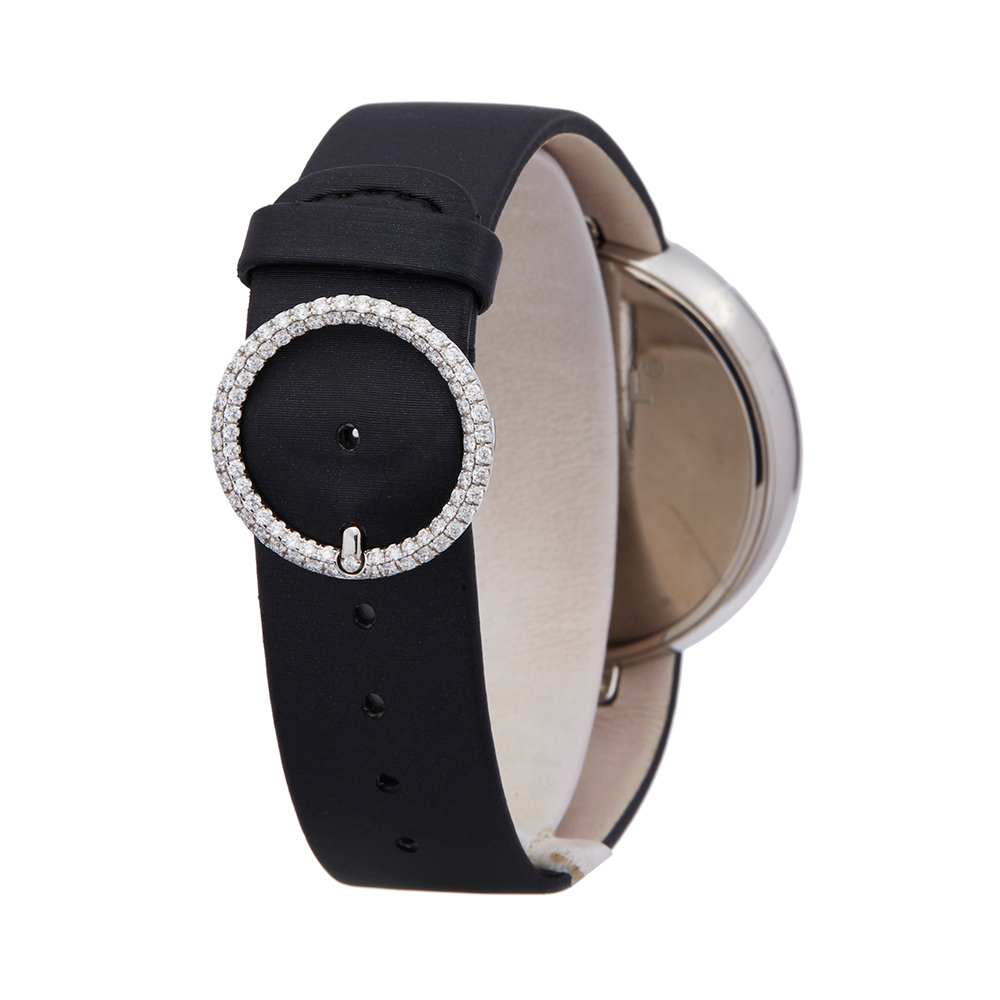 Chanel Mademoiselle H3093 Ladies White Gold Prive Diamond Watch - Image 5 of 8