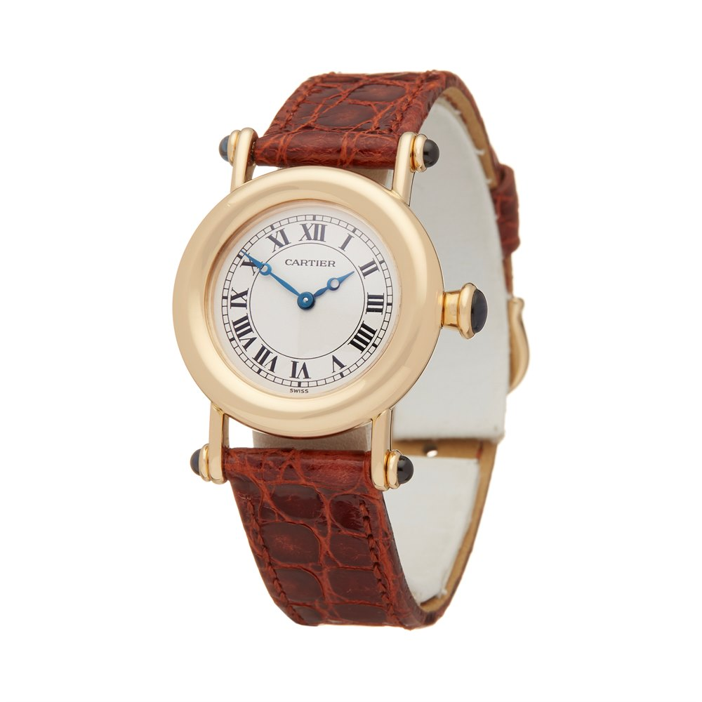 Cartier Diabolo W1507551 or 1440 Ladies Yellow Gold Watch