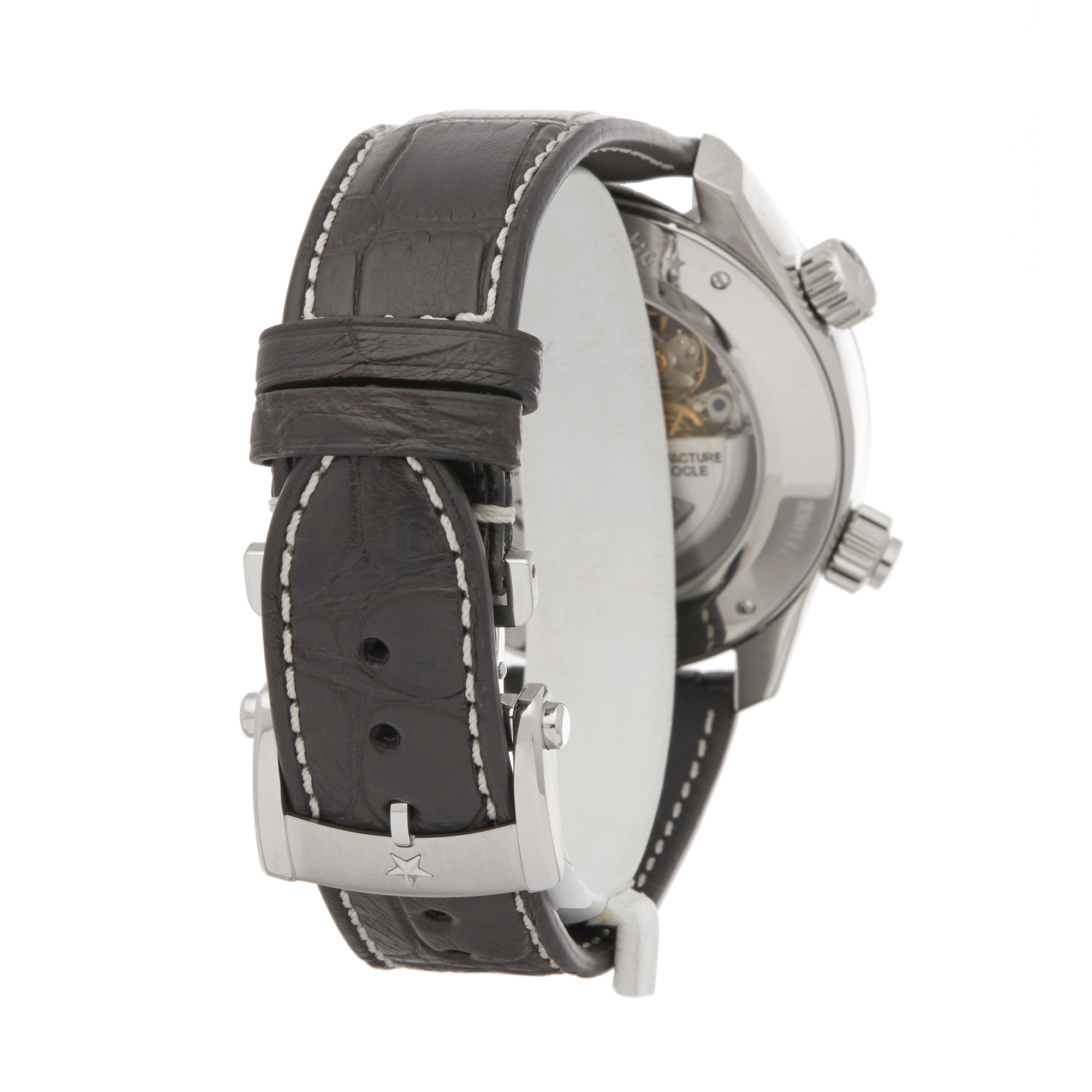 Zenith Doublematic 0 03.2400.4046/21.C721 Men Stainless Steel Chronograph Watch - Image 4 of 7