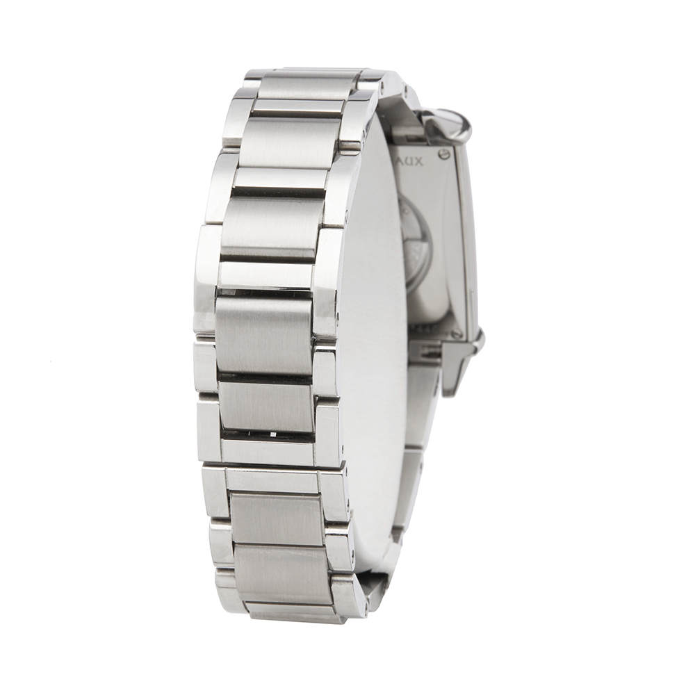 Girard Perregaux Vintage 1945 25860D11A1A111A Ladies Stainless Steel Diamond Watch - Image 5 of 8