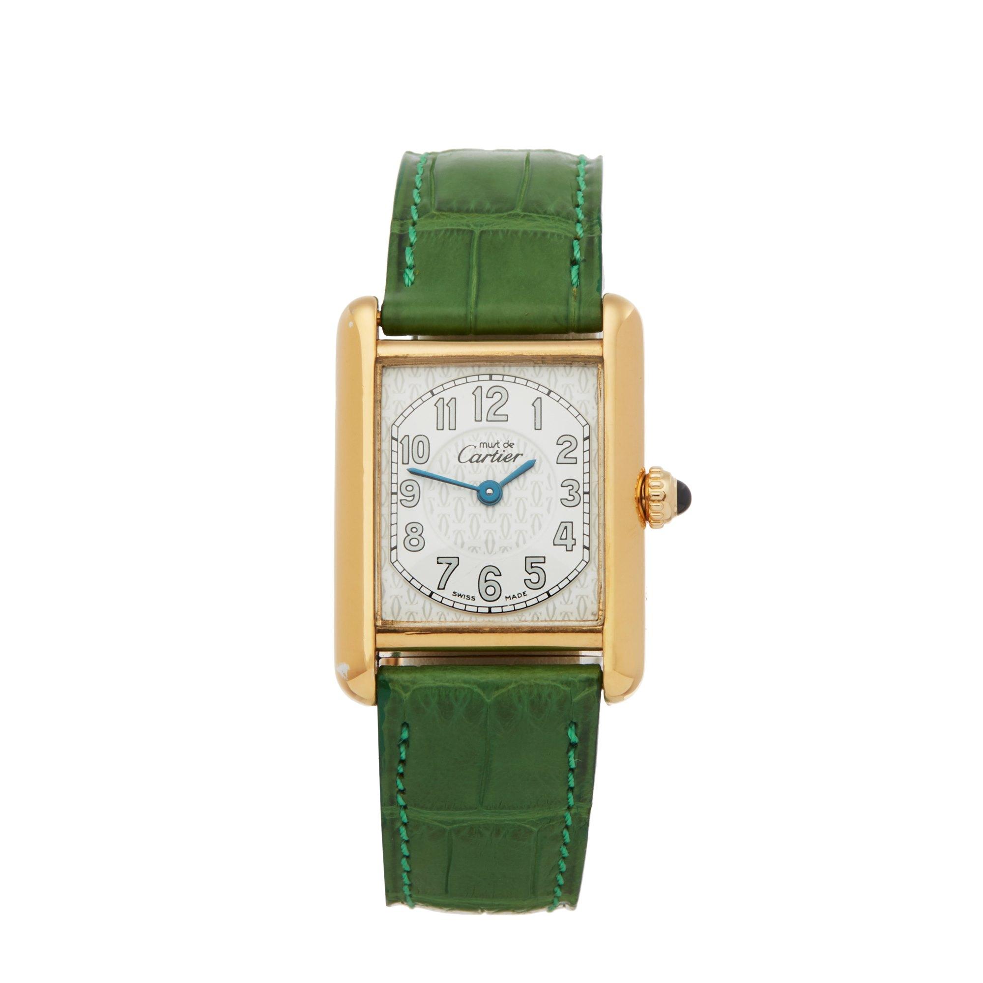 Cartier Must de Cartier 2415 Men Gold Plated Watch - Image 2 of 6