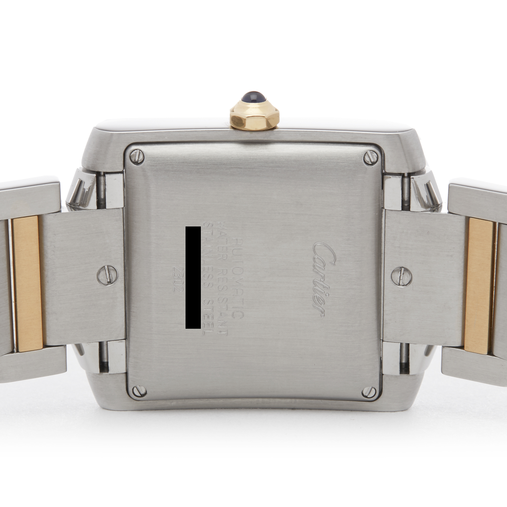 Cartier Tank Francaise 2302 Unisex Stainless Steel Watch - Image 4 of 8