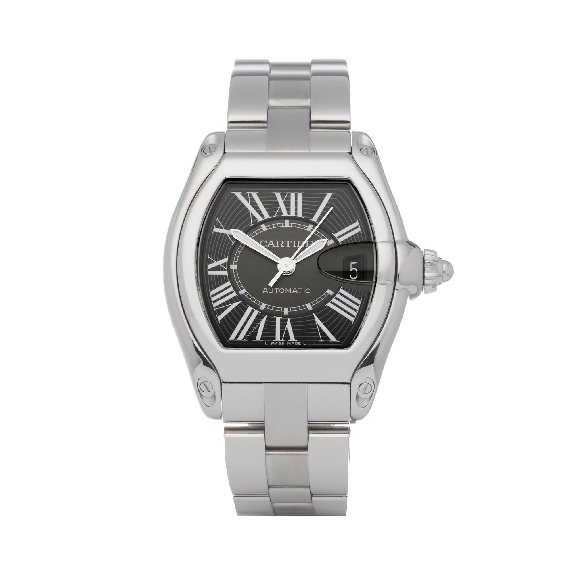 Cartier Roadster 2510 Men Stainless Steel Watch - Image 8 of 8