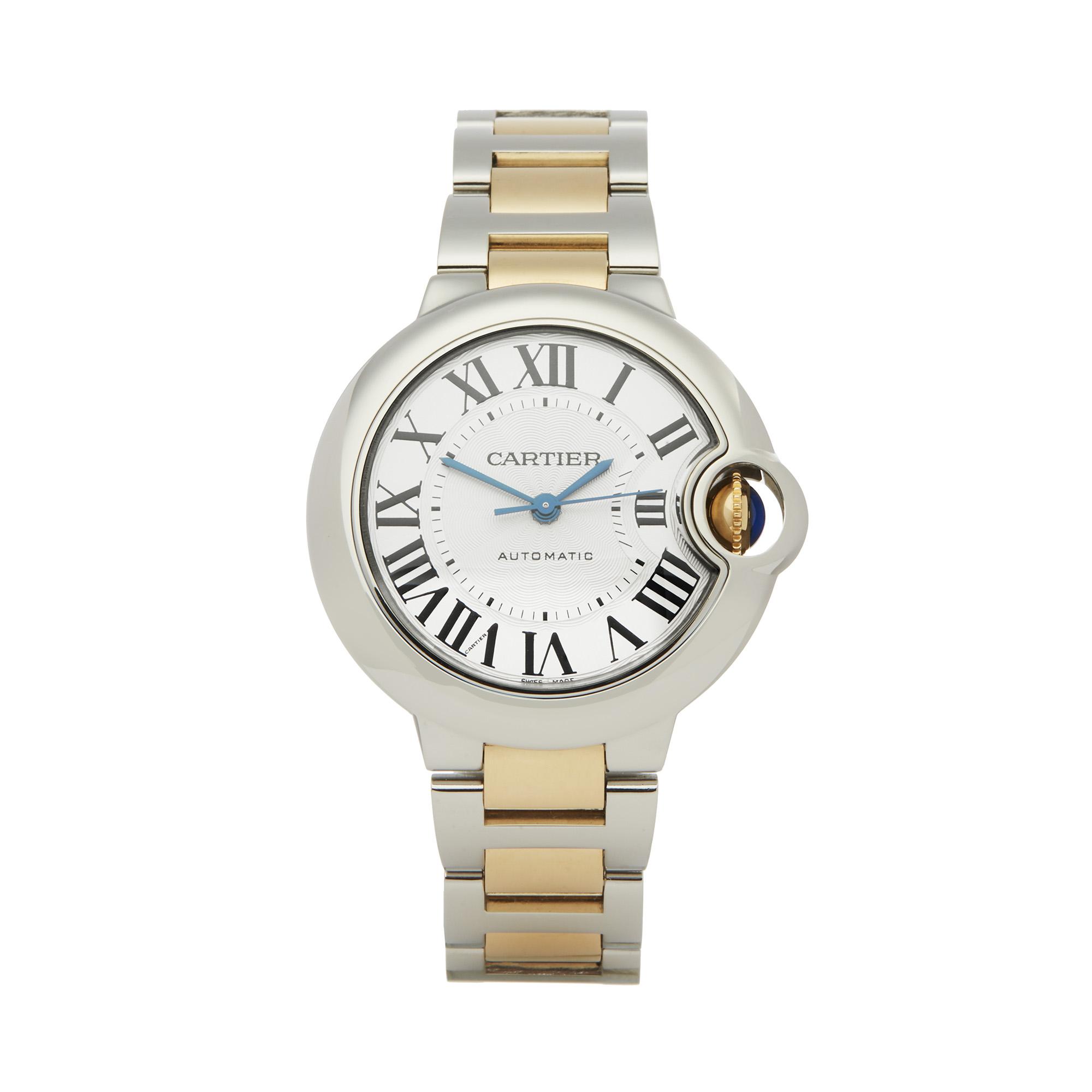 Cartier Ballon Bleu 3489 Ladies Stainless Steel & Yellow Gold Watch - Image 8 of 8