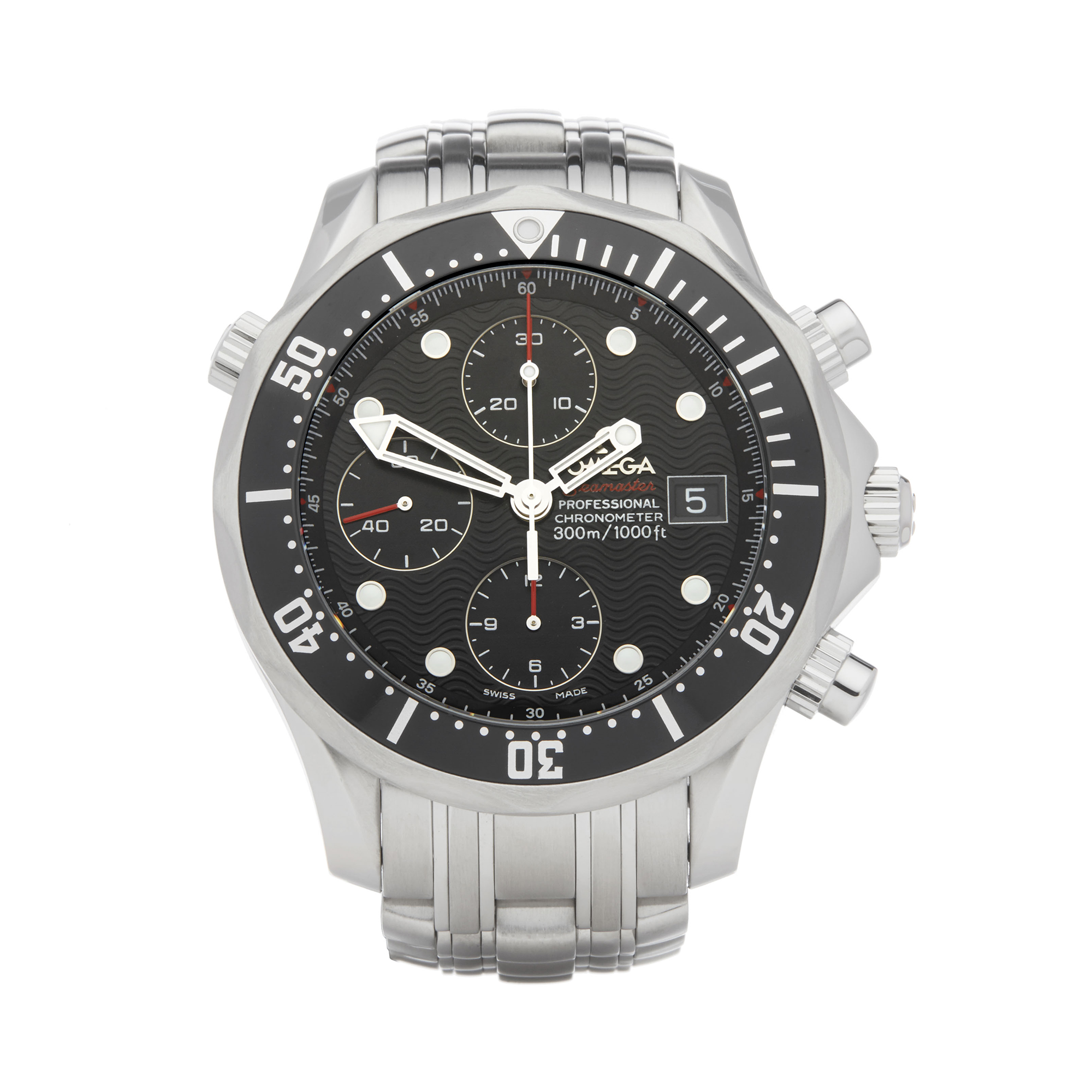 Omega Seamaster 0 213.30.42.40.01.001 Men Stainless Steel Chronograph Watch - Image 9 of 9