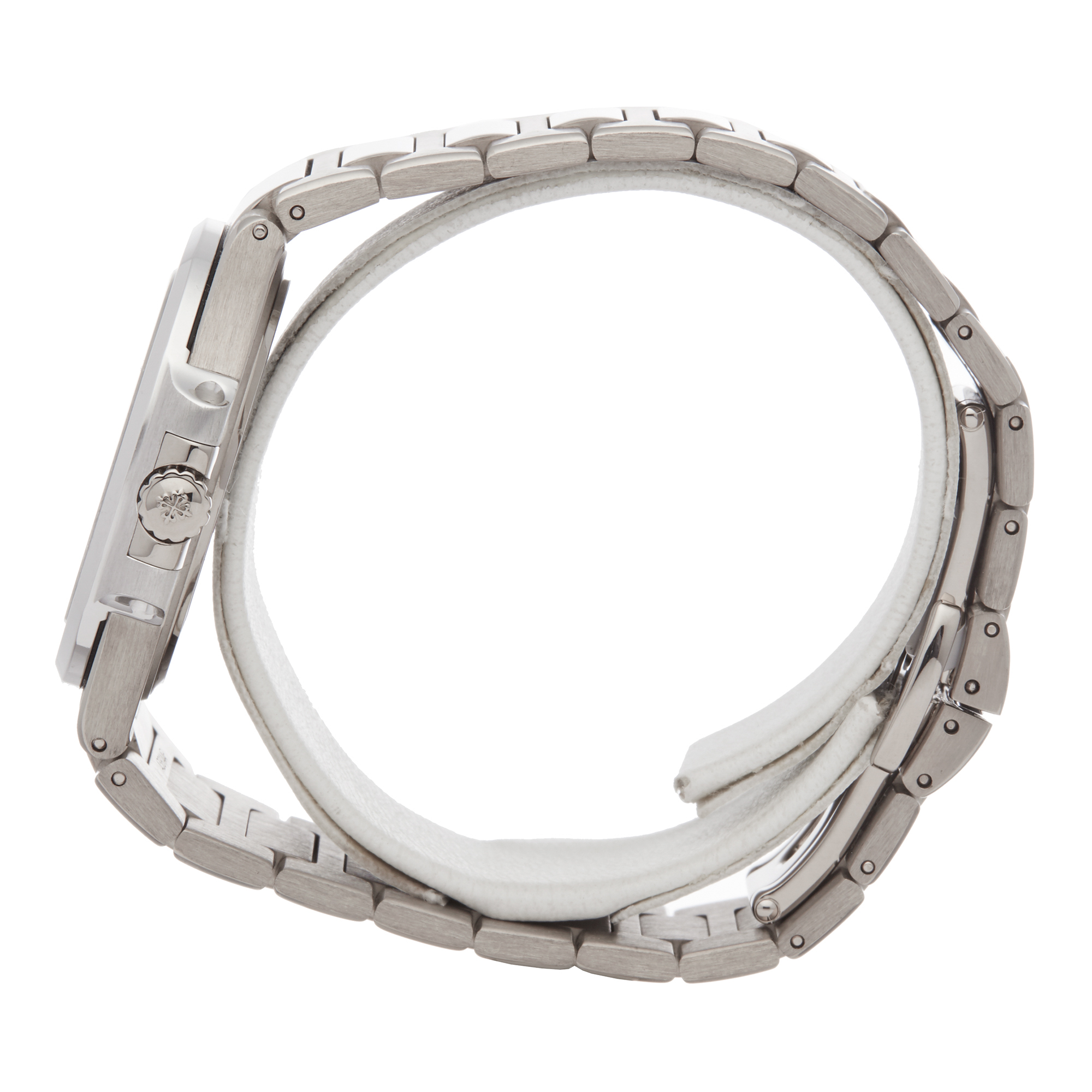 Patek Philippe Nautilus 7010G Ladies White Gold Diamond Watch - Image 7 of 8