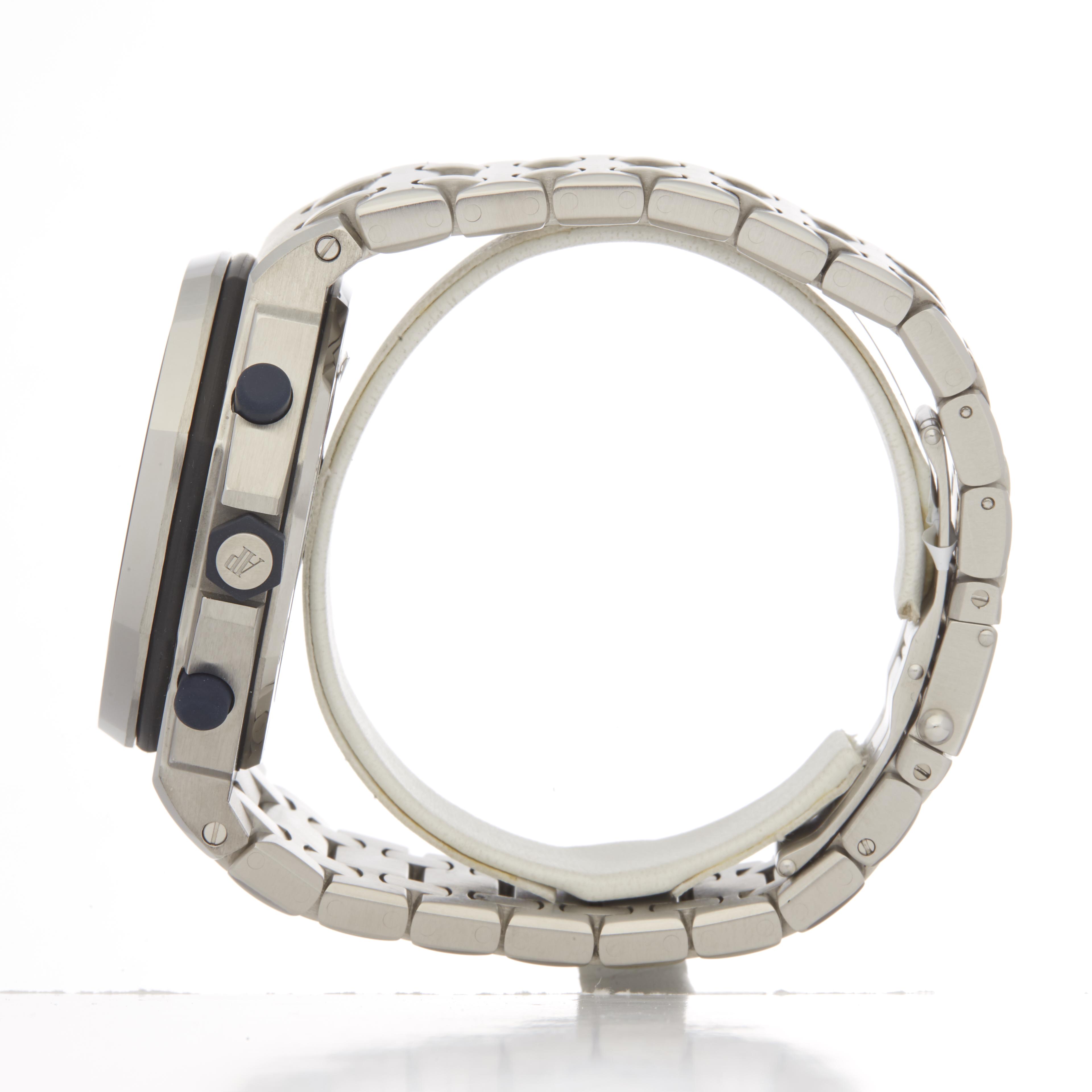 Audemars Piguet Royal Oak Offshore 25721ST/O/1000ST/01 Men Stainless Steel The Beast Chronograph - Image 6 of 6