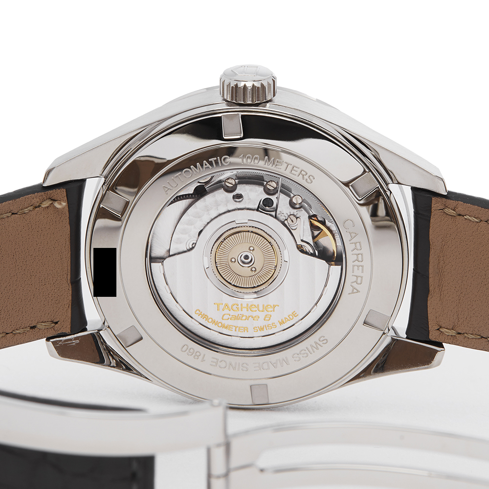 Tag Heuer Carrera WAR5012 Men Stainless Steel Calibre 8 Watch - Image 3 of 7