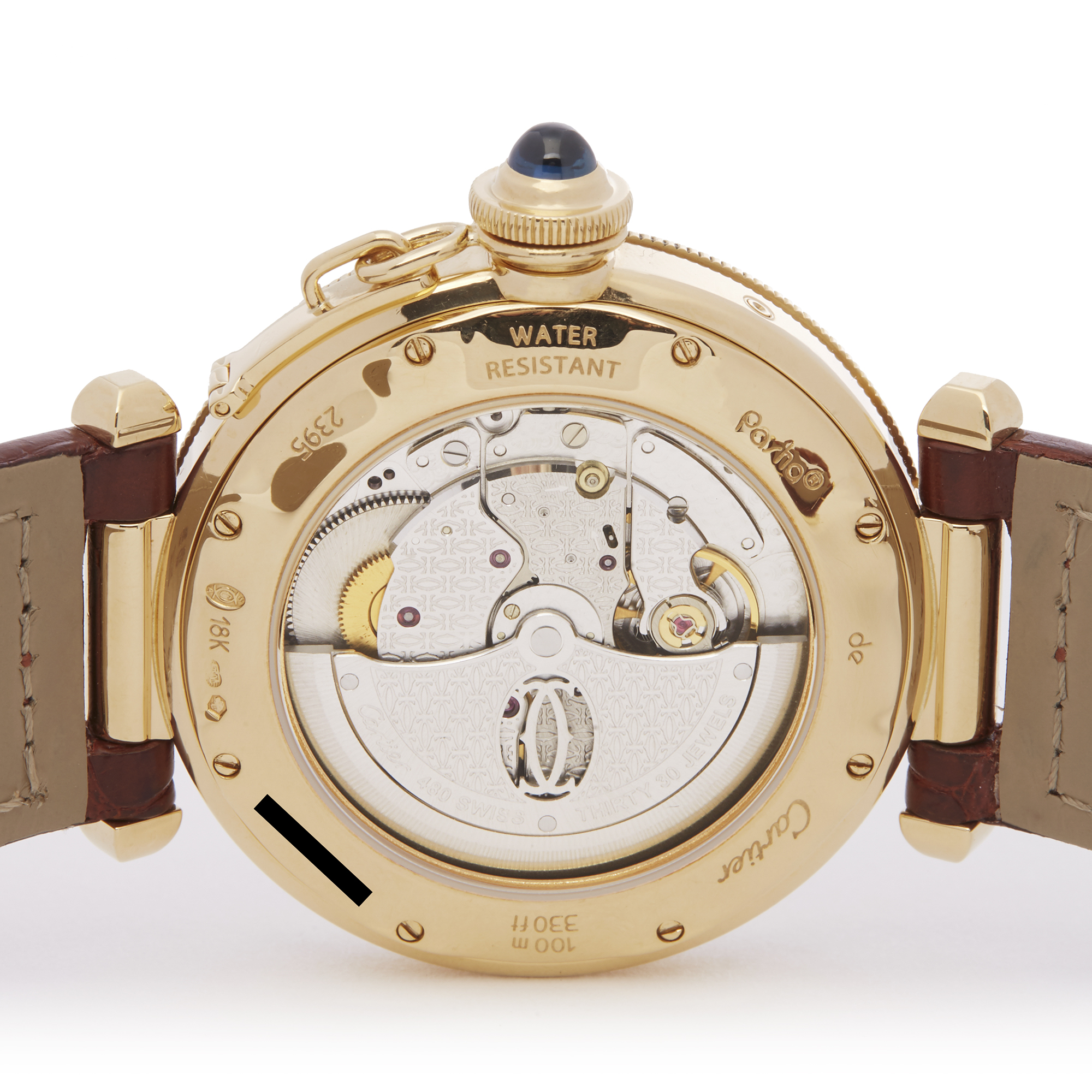 Cartier Pasha Seatimer W3014456 or 2395 Men Yellow Gold Watch - Image 5 of 9