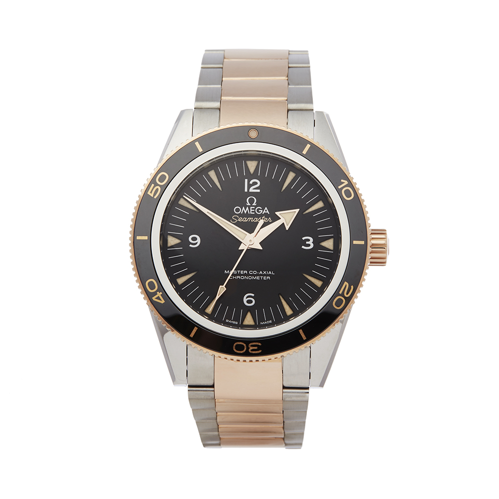Omega Seamaster 233.20.41.21.01.001 Men Stainless Steel & Rose Gold 300M Master Co-Axial Watch - Image 8 of 8