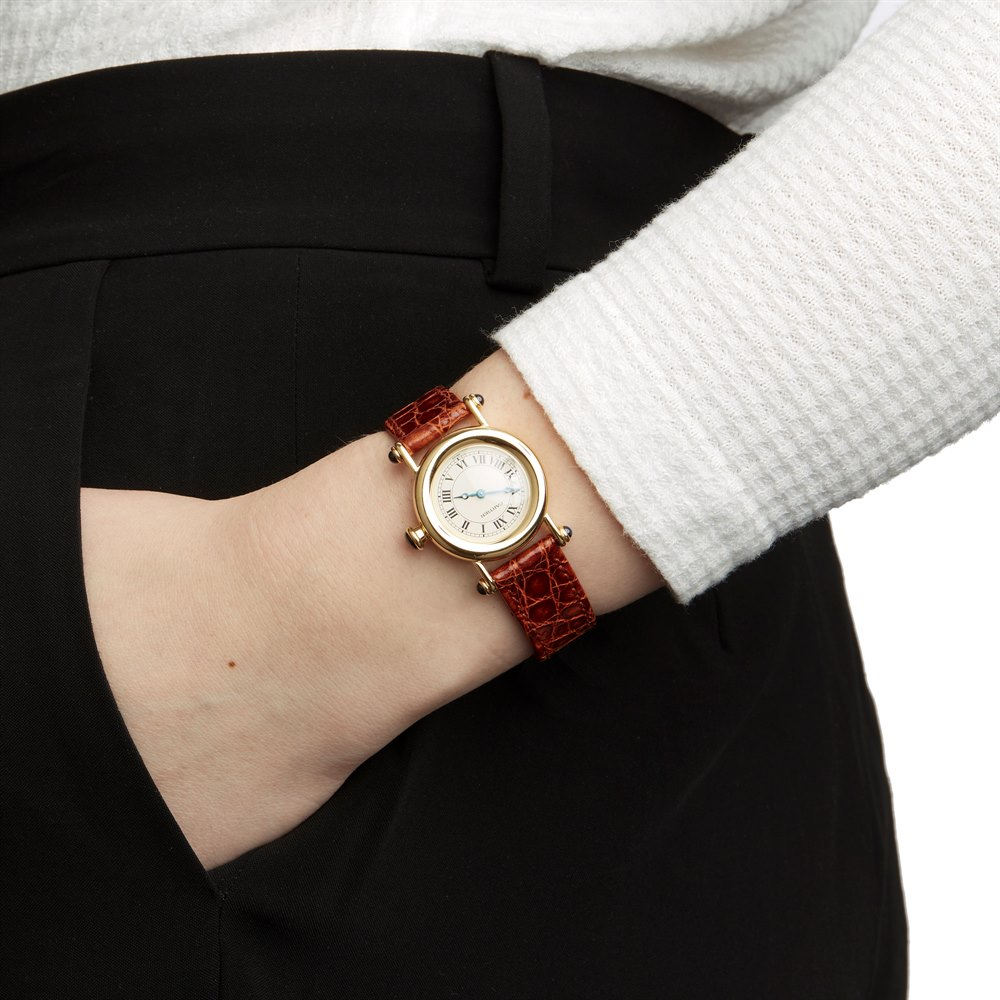 Cartier Diabolo W1507551 or 1440 Ladies Yellow Gold Watch - Image 8 of 8