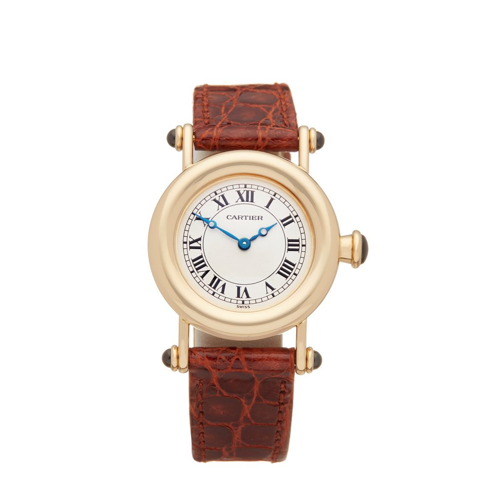 Cartier Diabolo W1507551 or 1440 Ladies Yellow Gold Watch - Image 2 of 8
