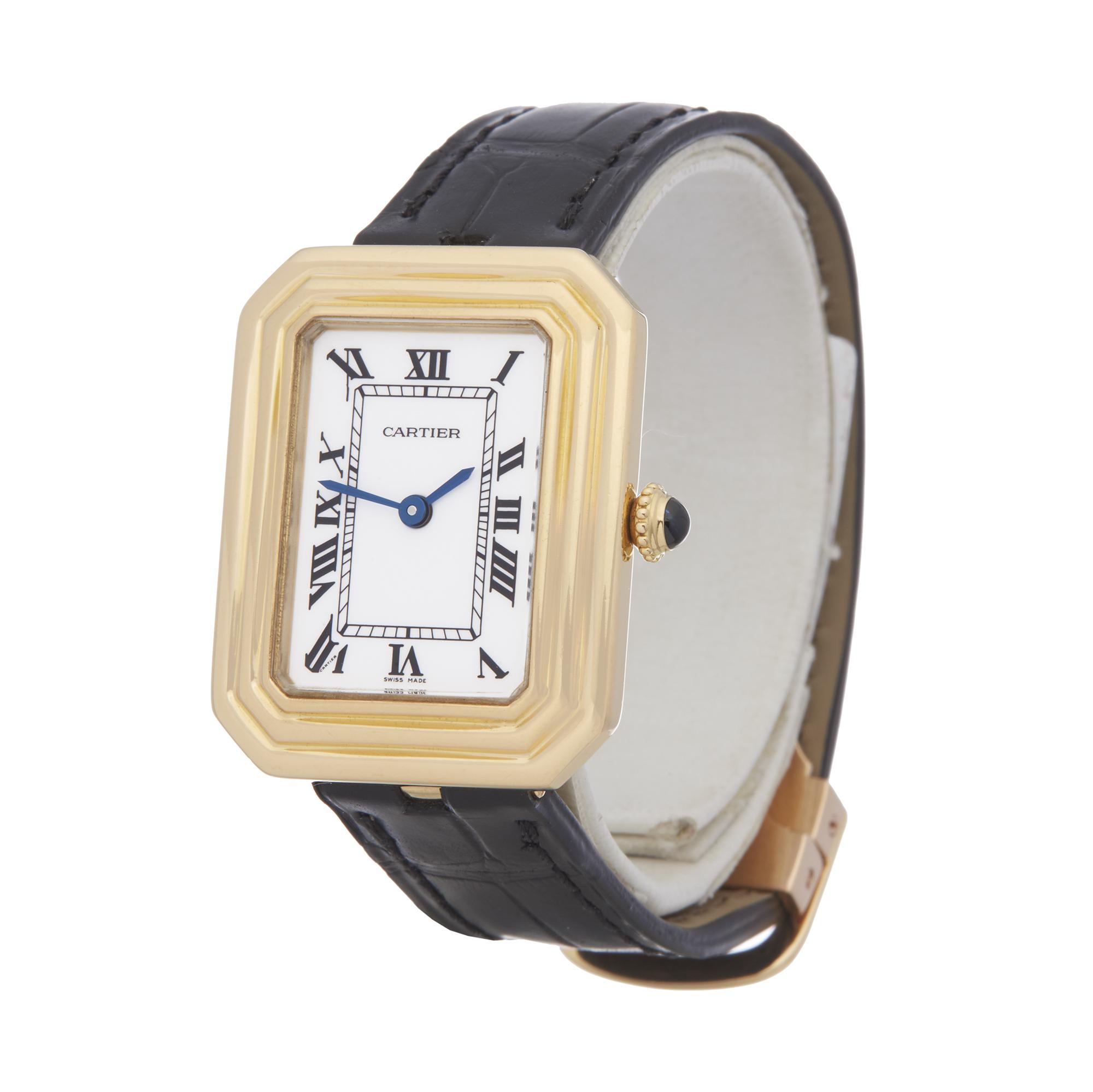 Cartier Cristallor Ladies Yellow Gold Paris Mecanique Watch