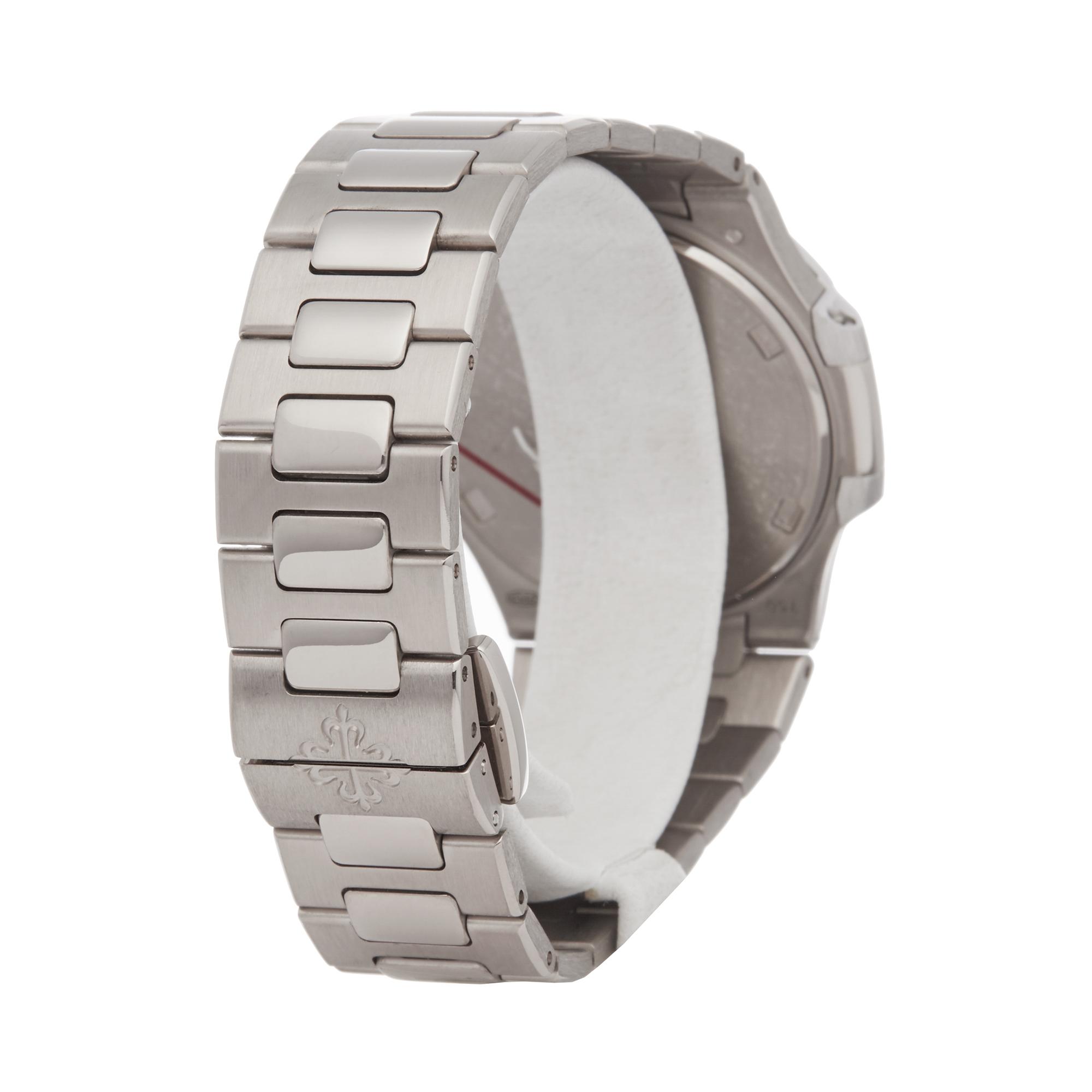 Patek Philippe Nautilus 7010G Ladies White Gold Diamond Watch - Image 5 of 8