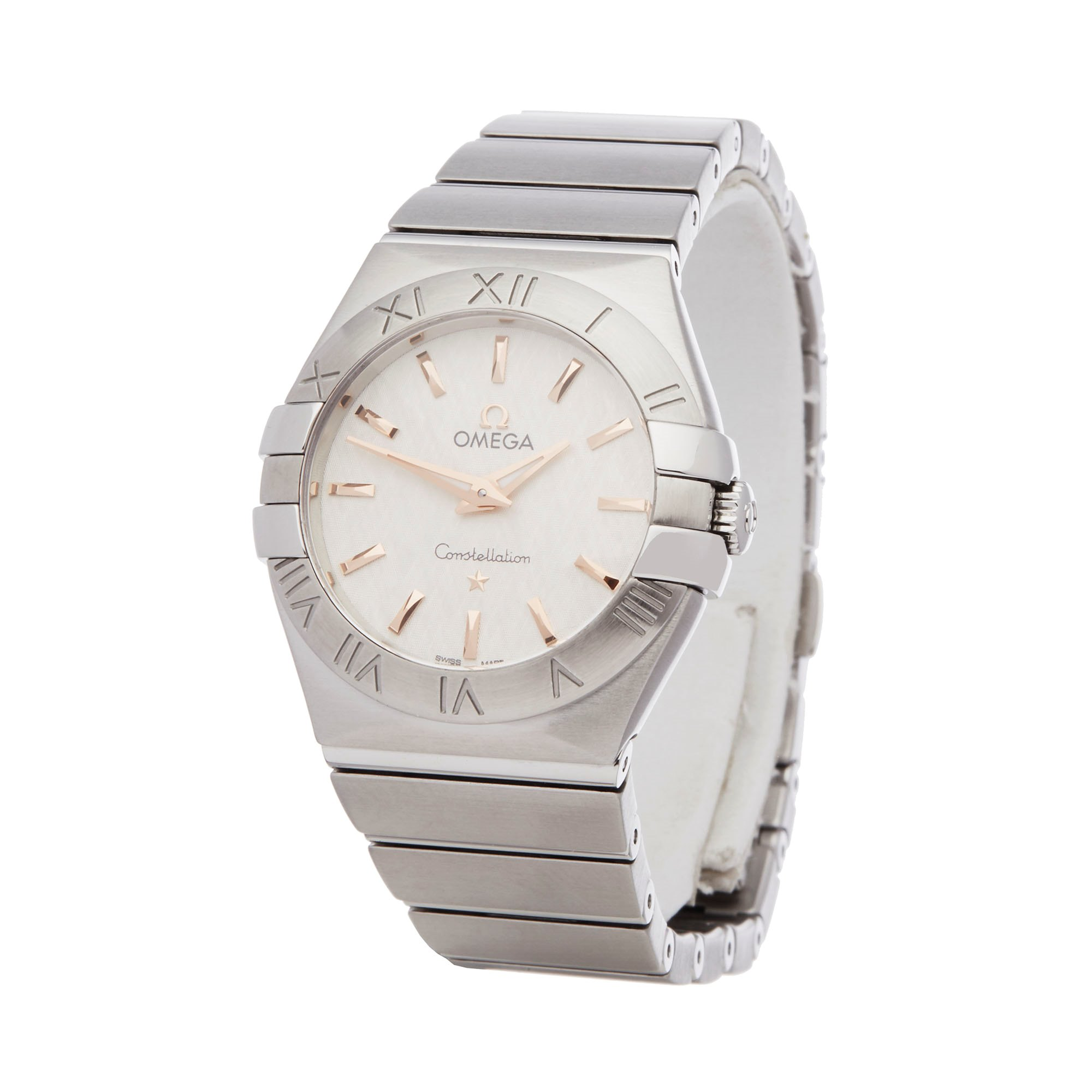 Omega Constellation 0 123.10.27.60.02.004 Ladies Stainless Steel Watch