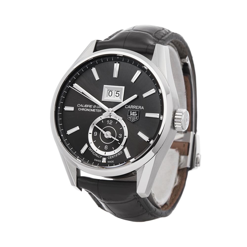 Tag Heuer Carrera WAR5012 Men Stainless Steel Calibre 8 Watch