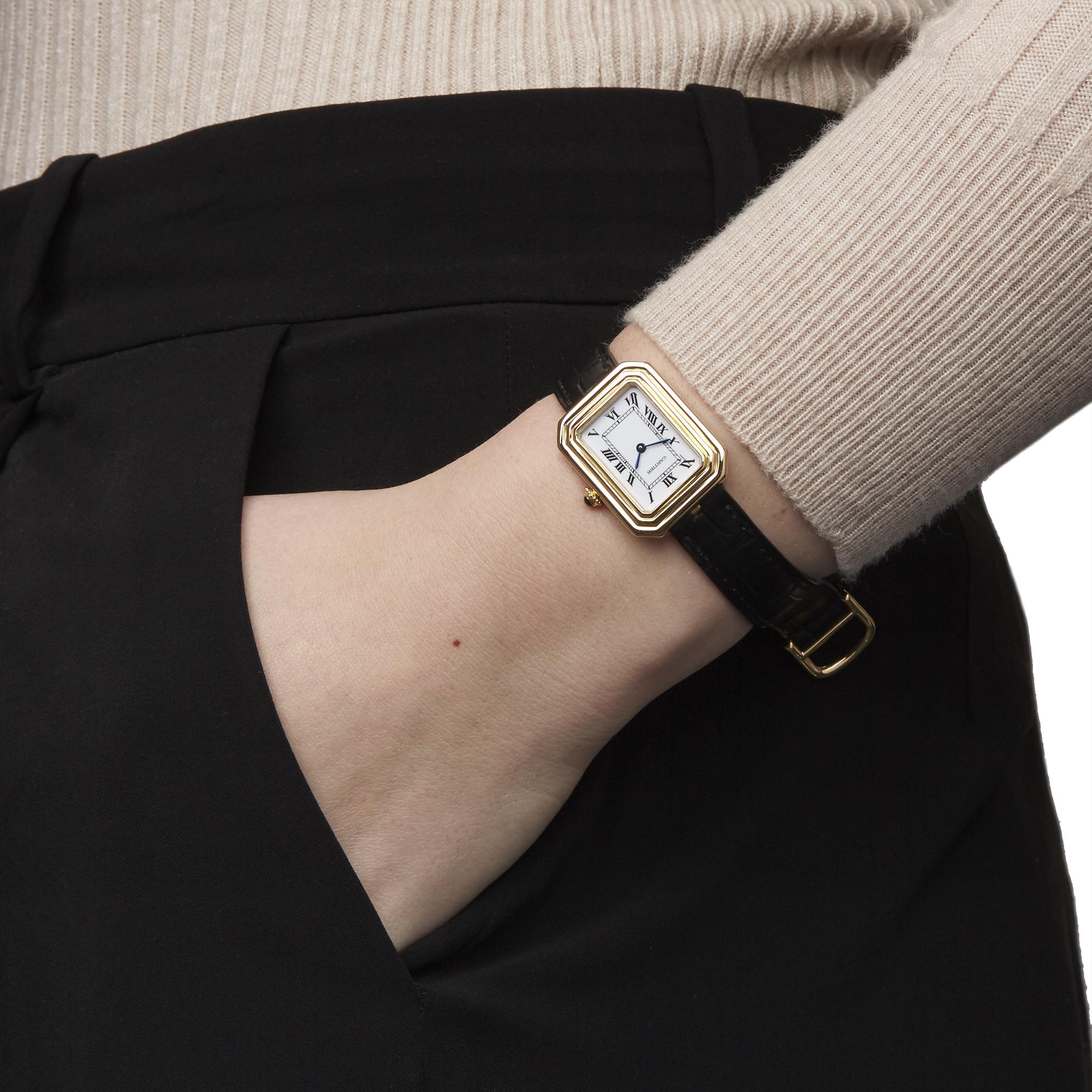 Cartier Cristallor Ladies Yellow Gold Paris Mecanique Watch - Image 2 of 8