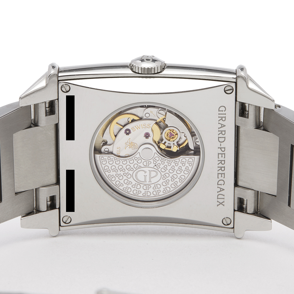 Girard Perregaux Vintage 1945 25860D11A1A111A Ladies Stainless Steel Diamond Watch - Image 4 of 8