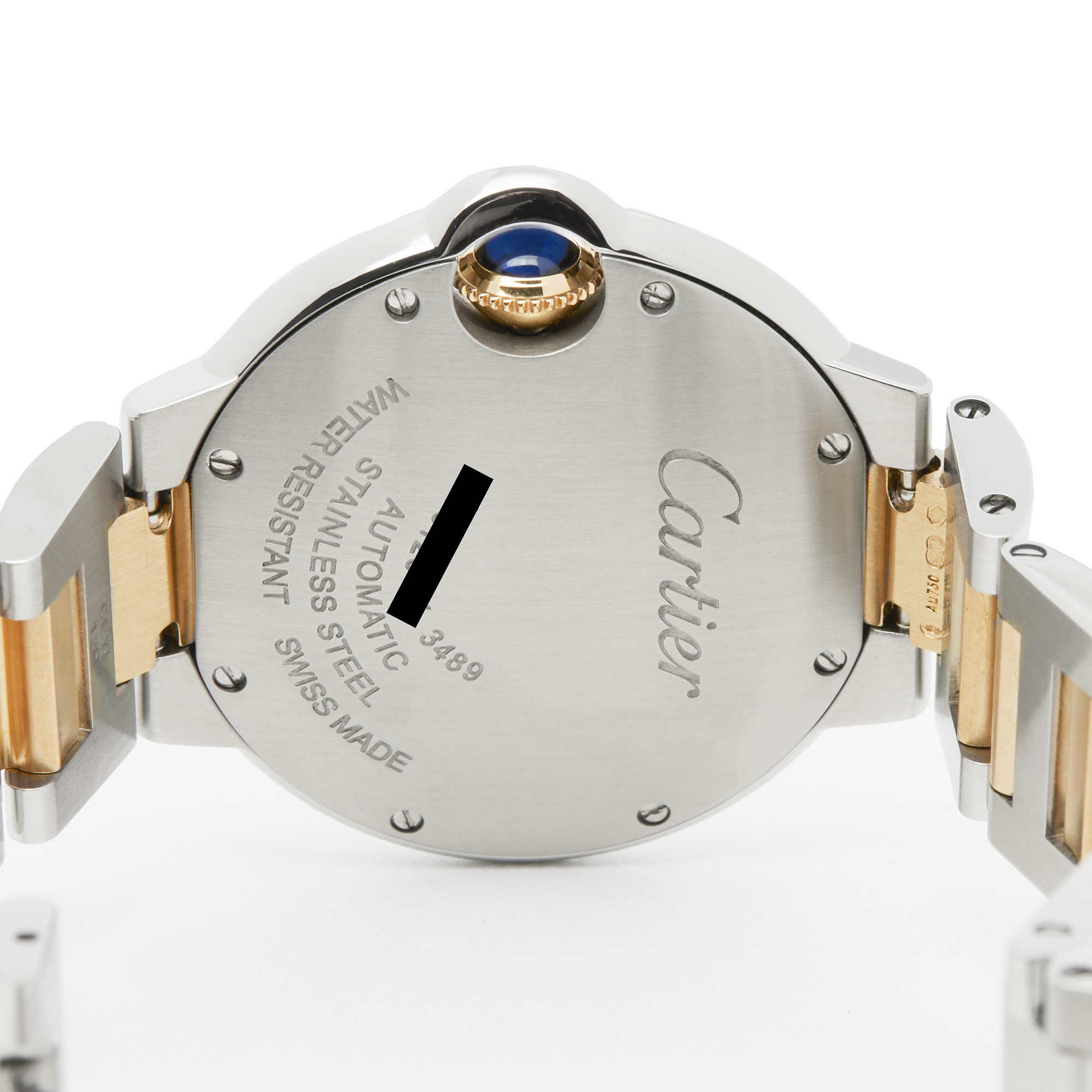 Cartier Ballon Bleu 3489 Ladies Stainless Steel & Yellow Gold Watch - Image 4 of 8