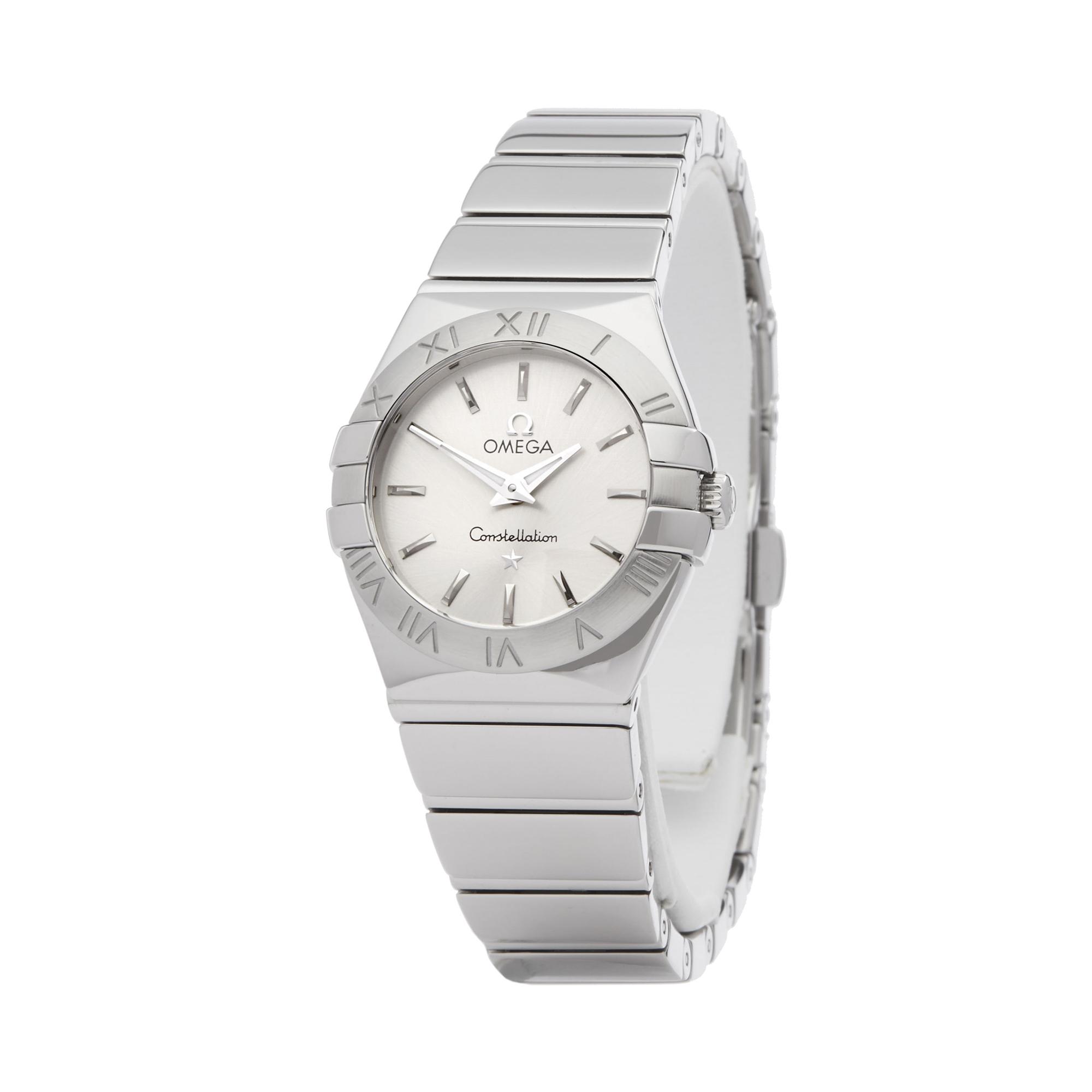 Omega Constellation 123.10.24.60.02.00 Ladies Stainless Steel Watch