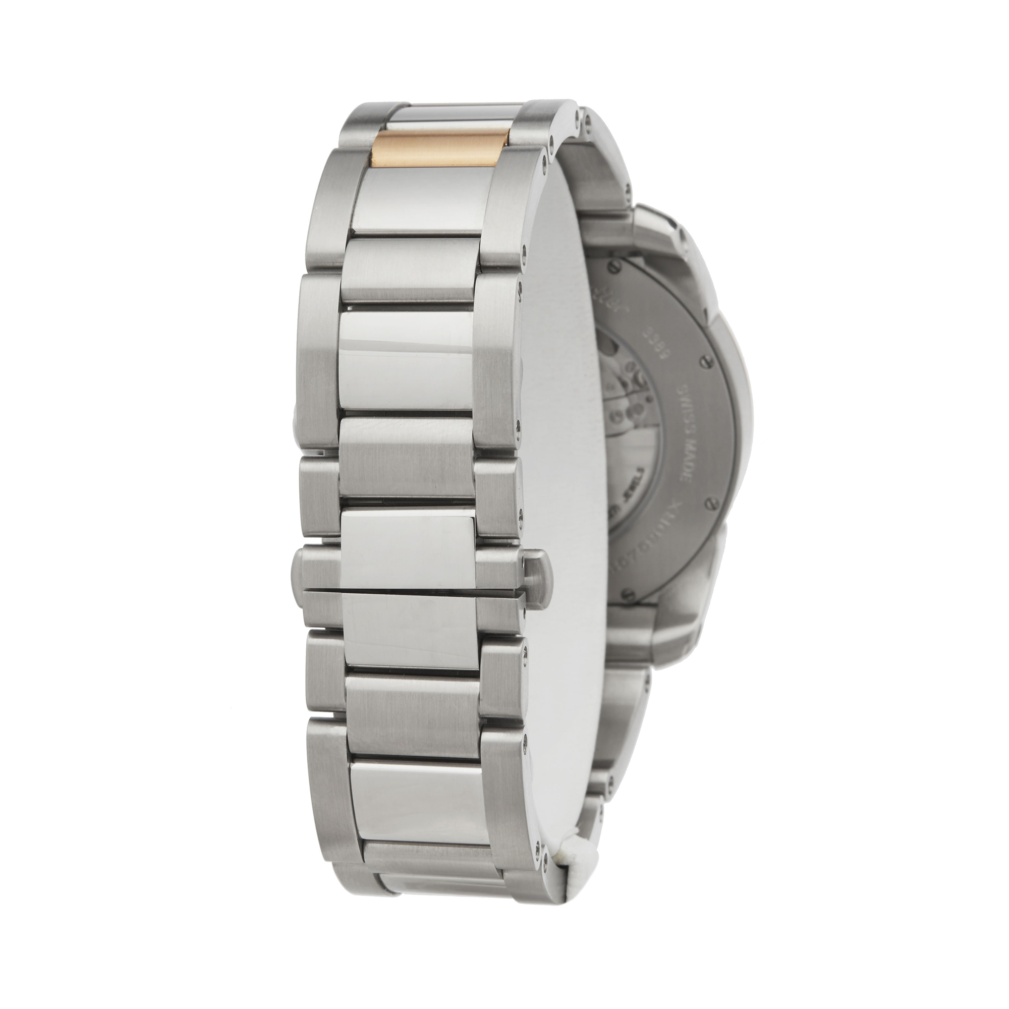 Cartier Calibre W7100036 or 3389 Men Stainless Steel & Rose Gold Watch - Image 5 of 8
