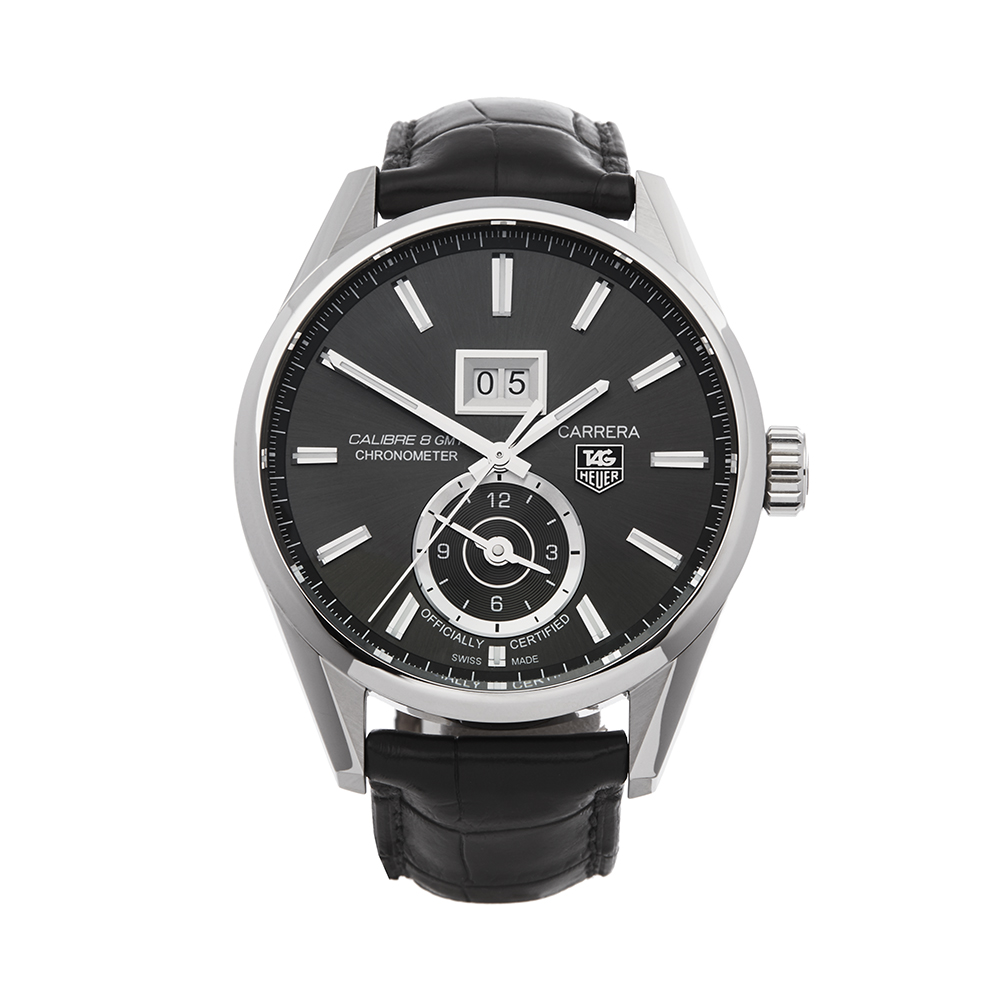 Tag Heuer Carrera WAR5012 Men Stainless Steel Calibre 8 Watch - Image 7 of 7