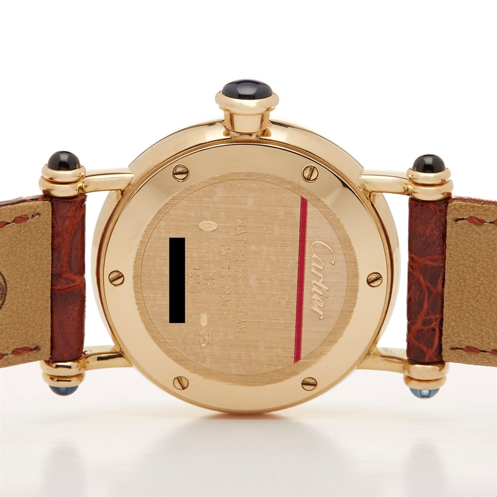 Cartier Diabolo W1507551 or 1440 Ladies Yellow Gold Watch - Image 6 of 8