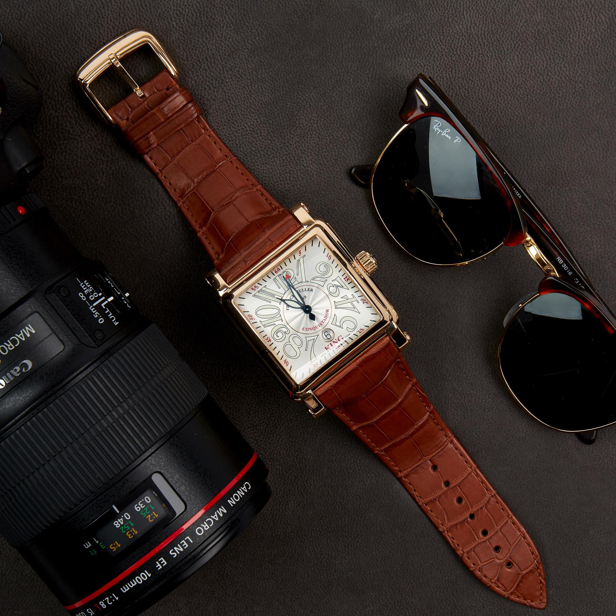 Franck Muller King Conquistador Cortez 10000K Men Rose Gold Watch - Image 2 of 8